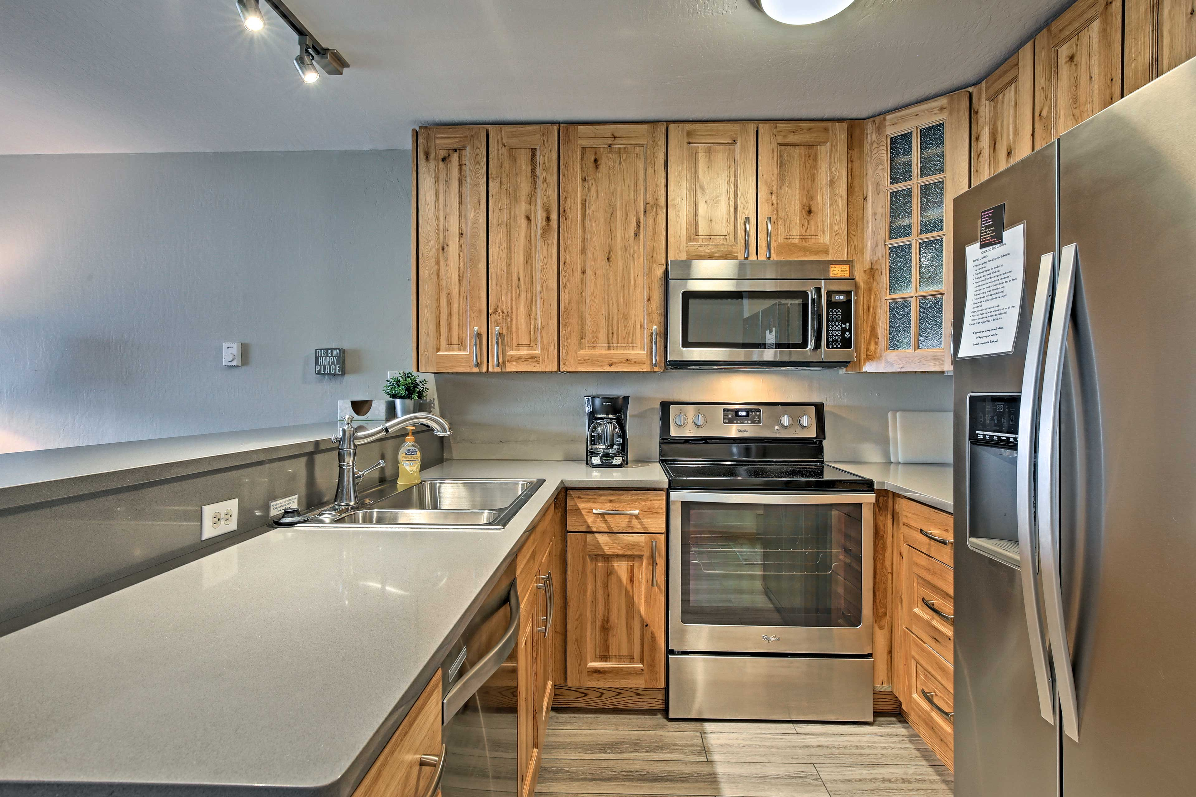 Fully Equipped Kitchen | Updated Appliances