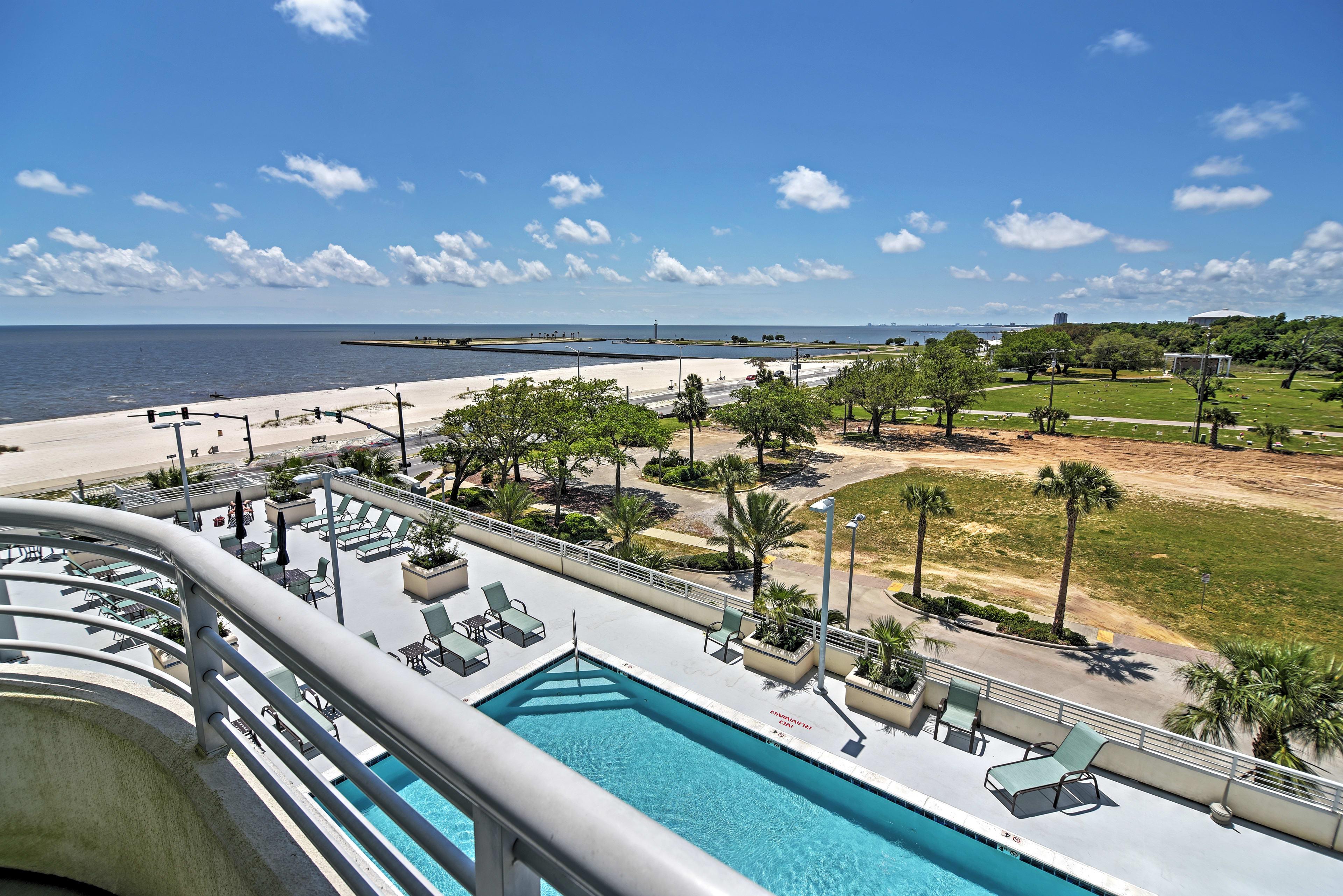 Book your Biloxi beach vacation at this beachside condo at Ocean Club!