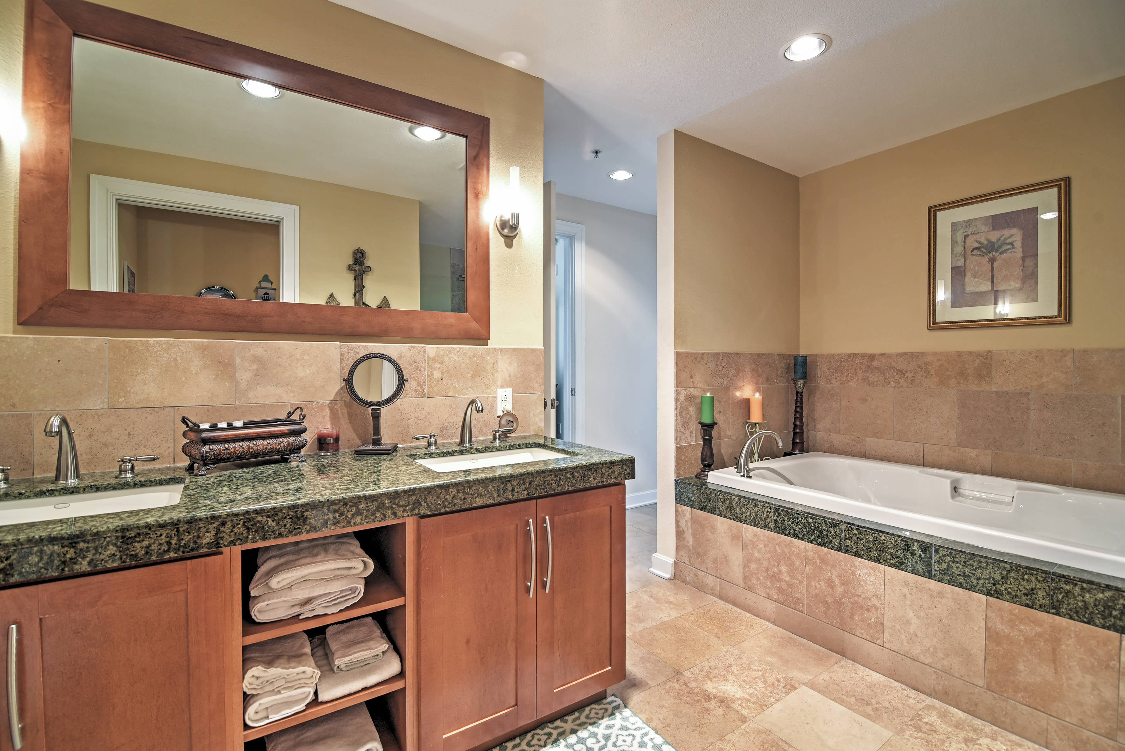 Indulge in this luxurious 5-piece master bathroom!