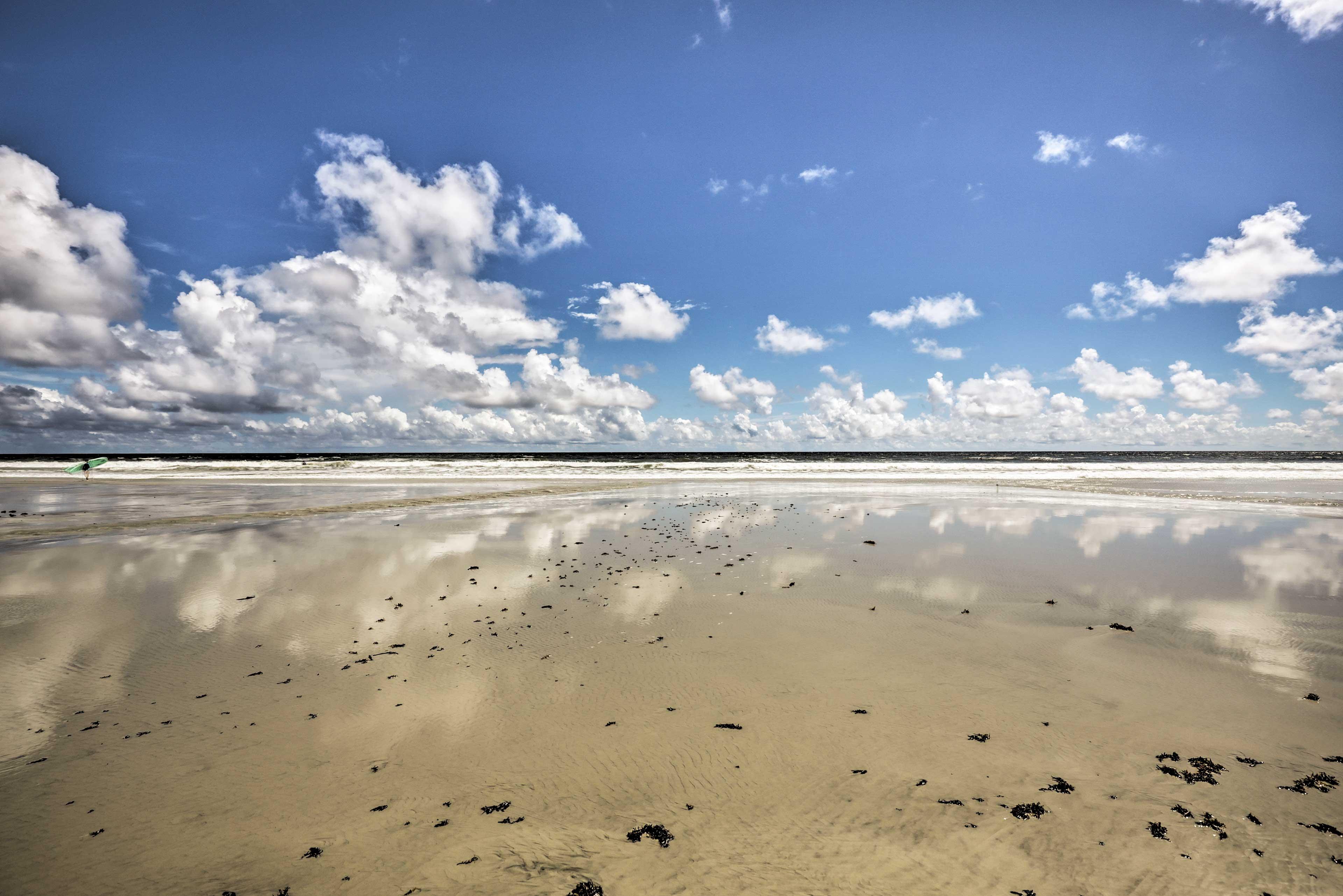 Enjoy endless beach days!