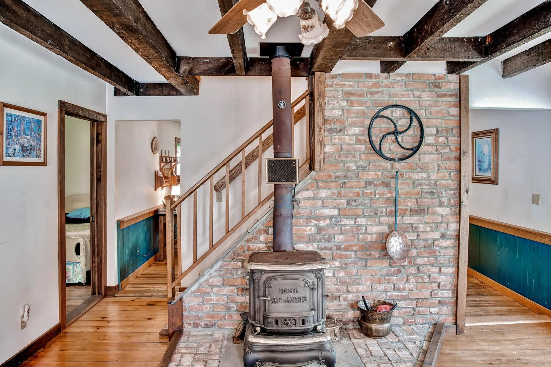Living Room | Wood-Burning Stove