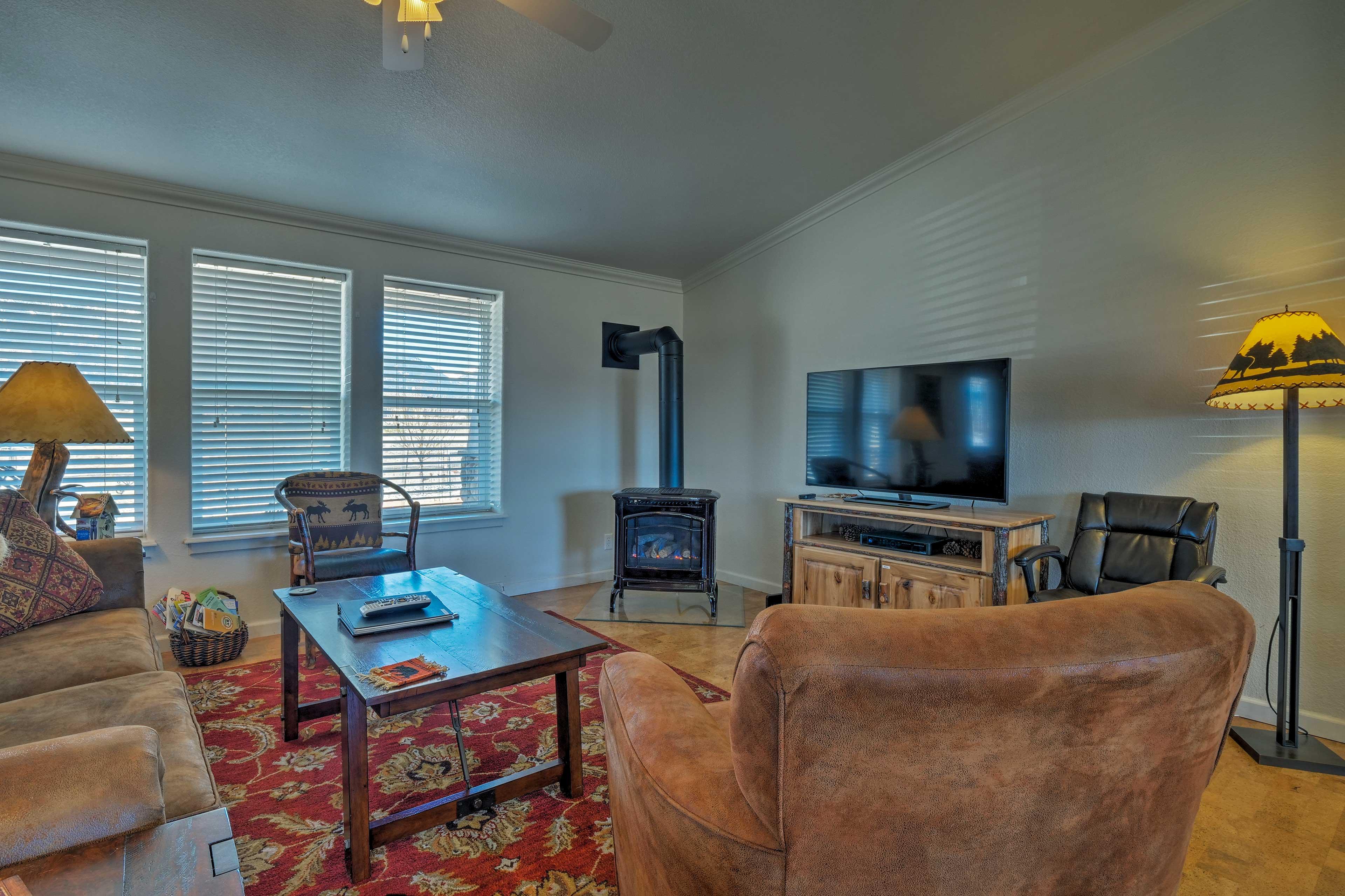 Living Room | Single-Story Home