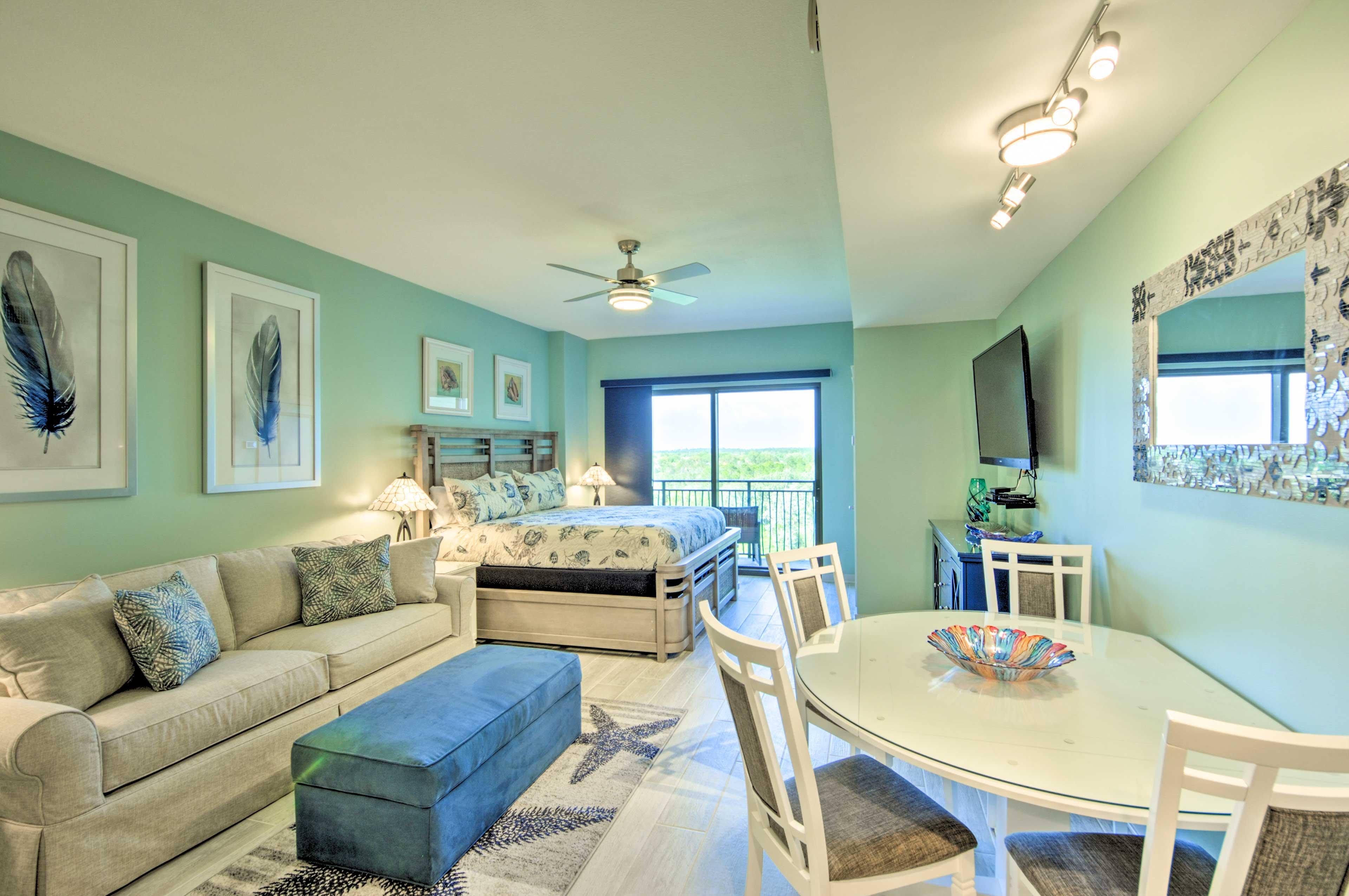 Panama City Beach Vacation Rental | Studio | 1BA | 475 Sq Ft | 6th Floor