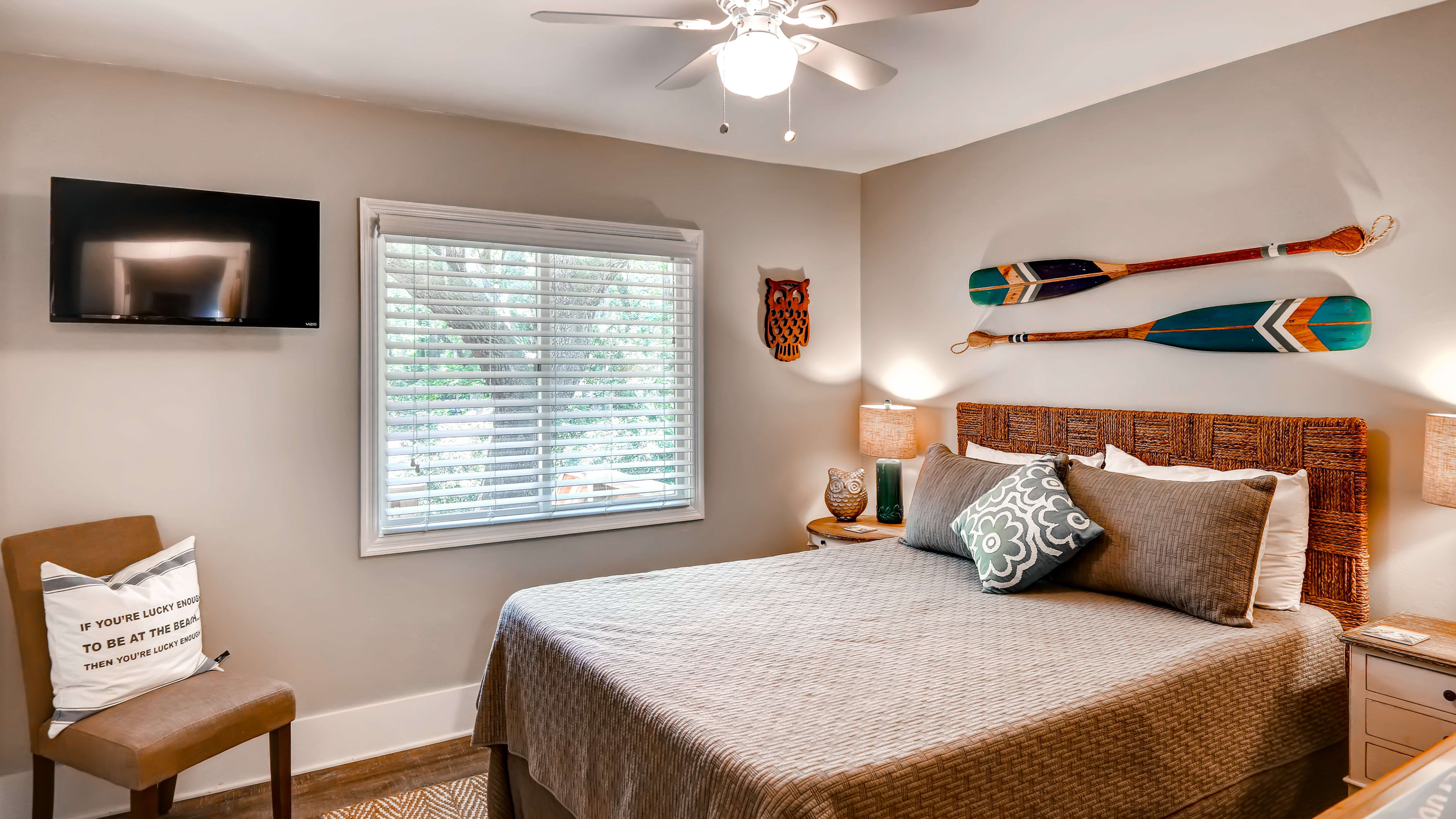 Bedroom 3 | Queen Bed | Linens Provided
