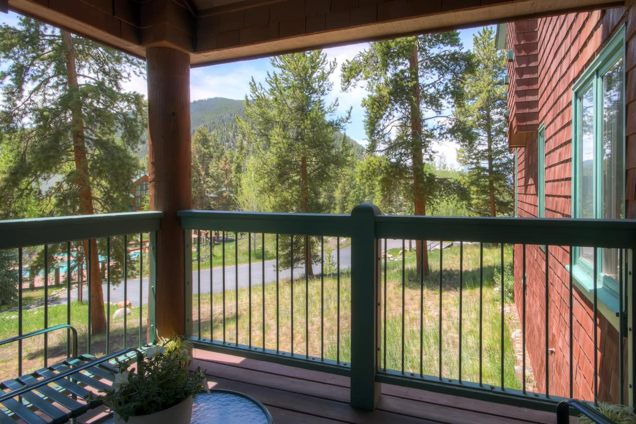 Private Balcony | Mountain Views