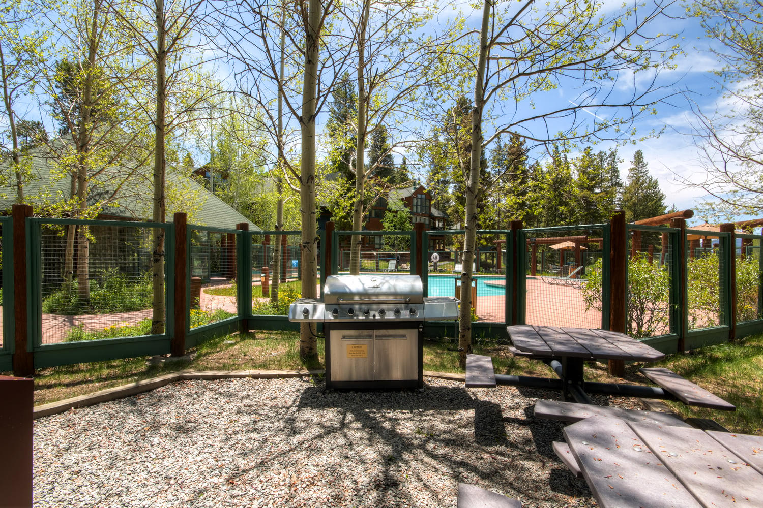 Soda Springs Townhomes Community Grilling Area