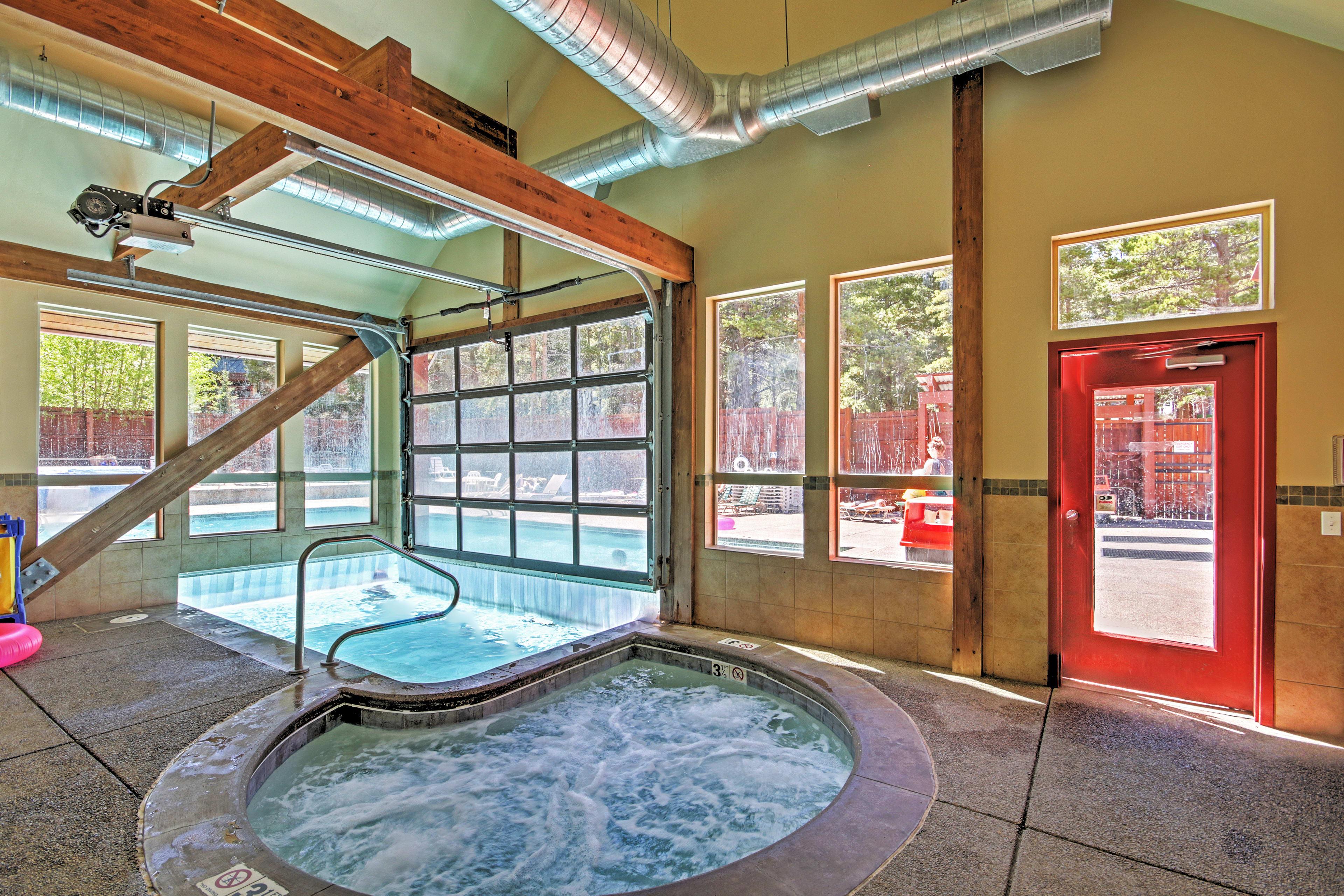 Indoor Community Hot Tub