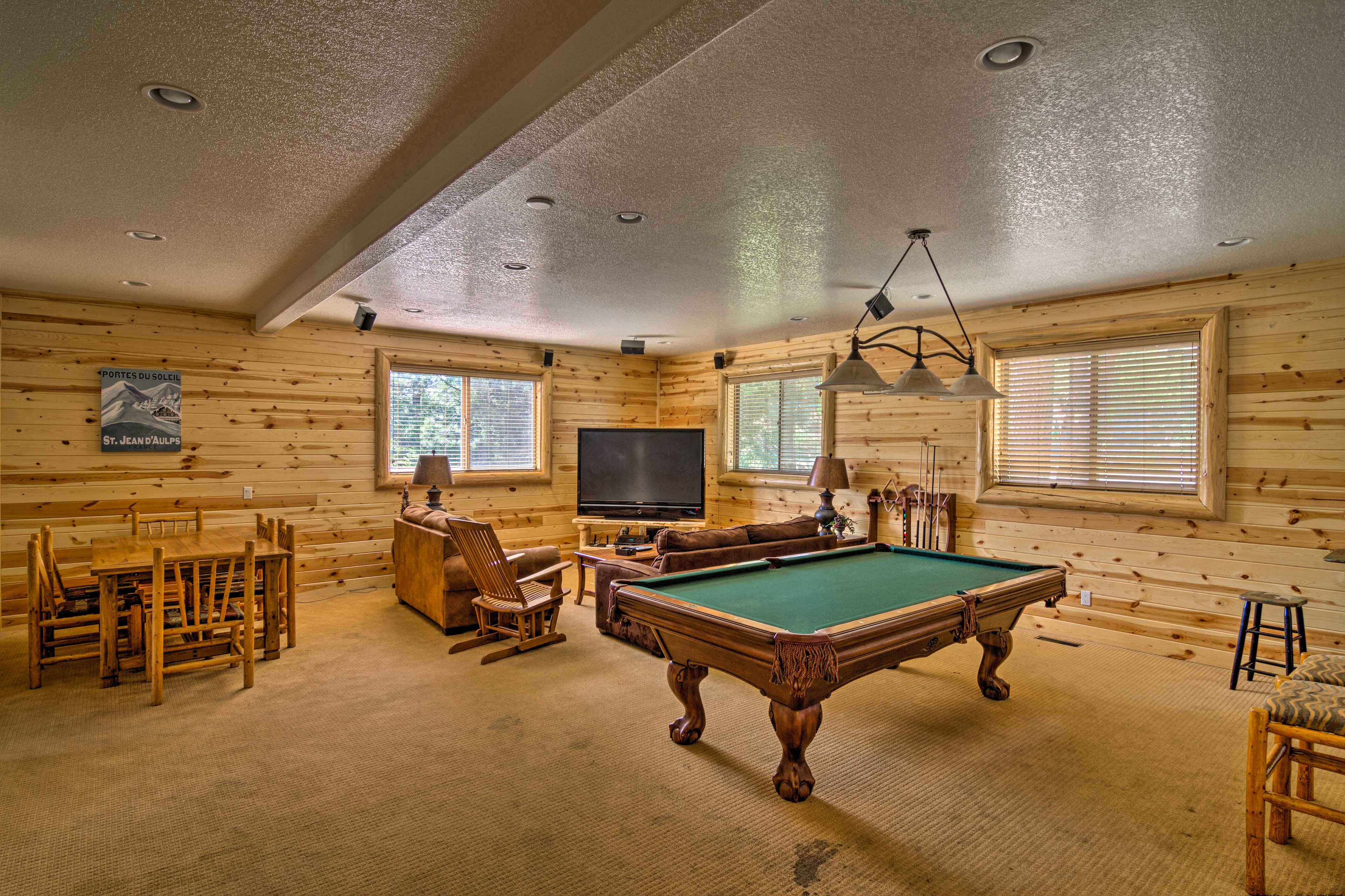Challenge your fellow guests to a competitive game of billiards!