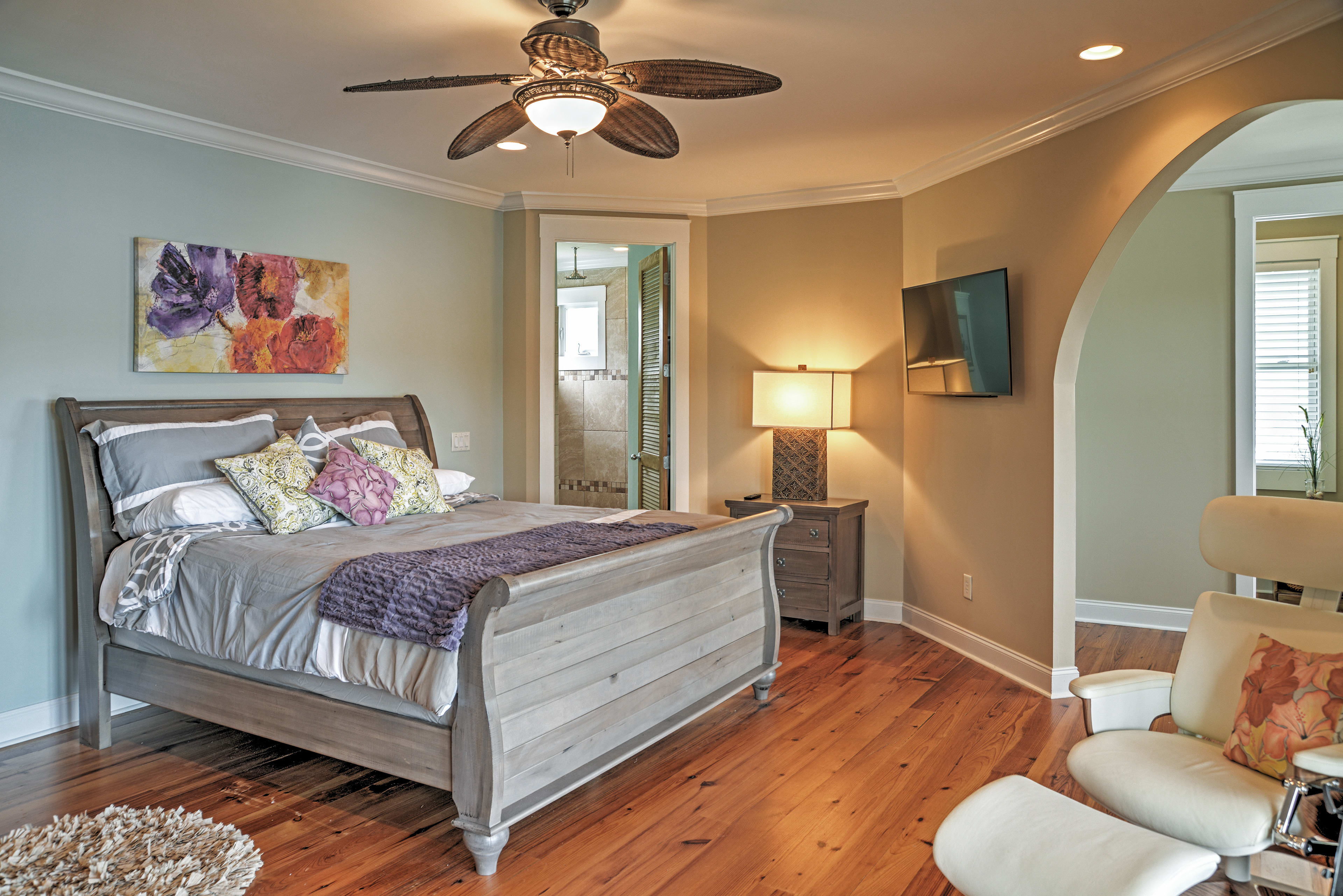 You'll love the luxurious Master Bedroom.