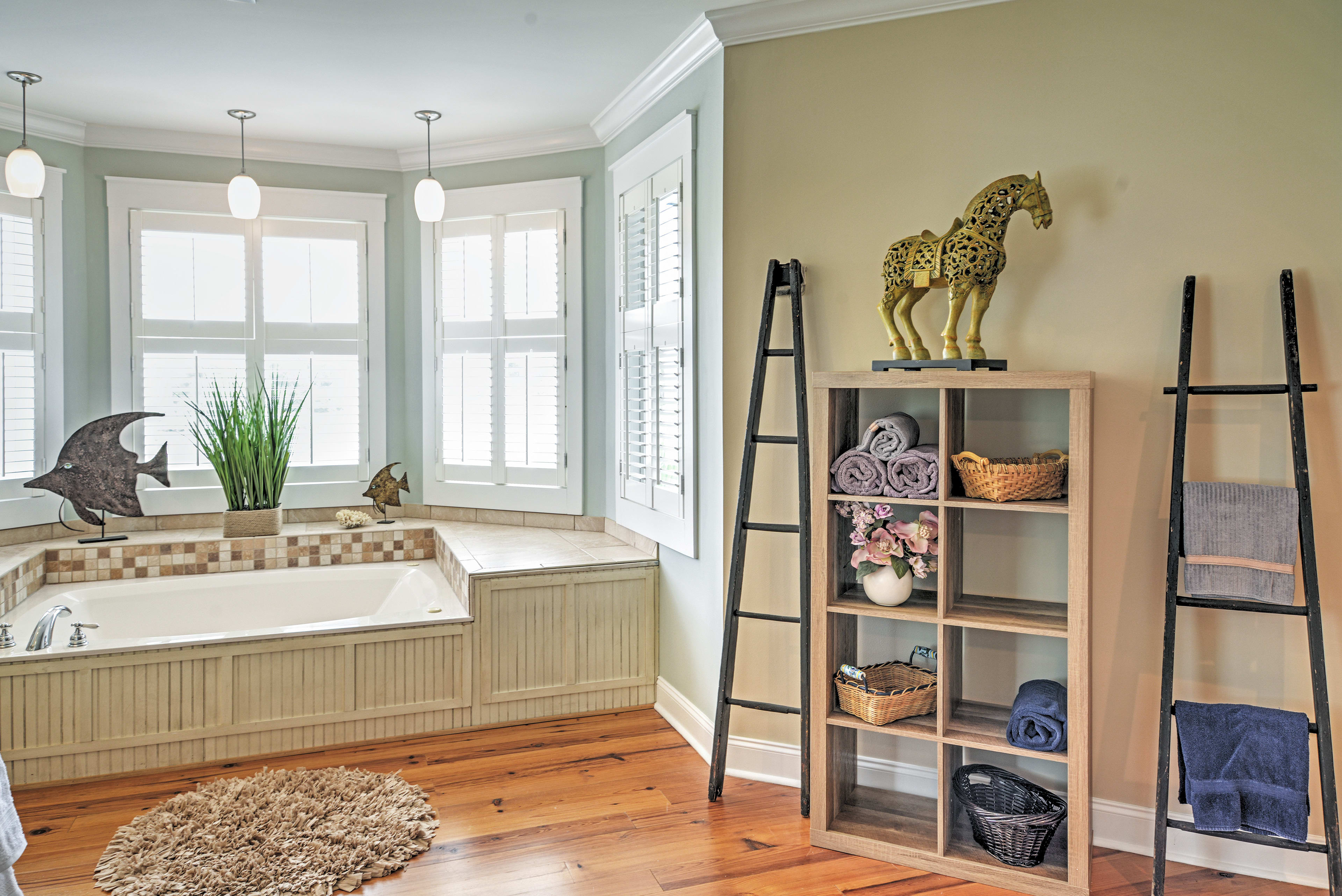 The Master Bedroom's bathroom is outstanding!