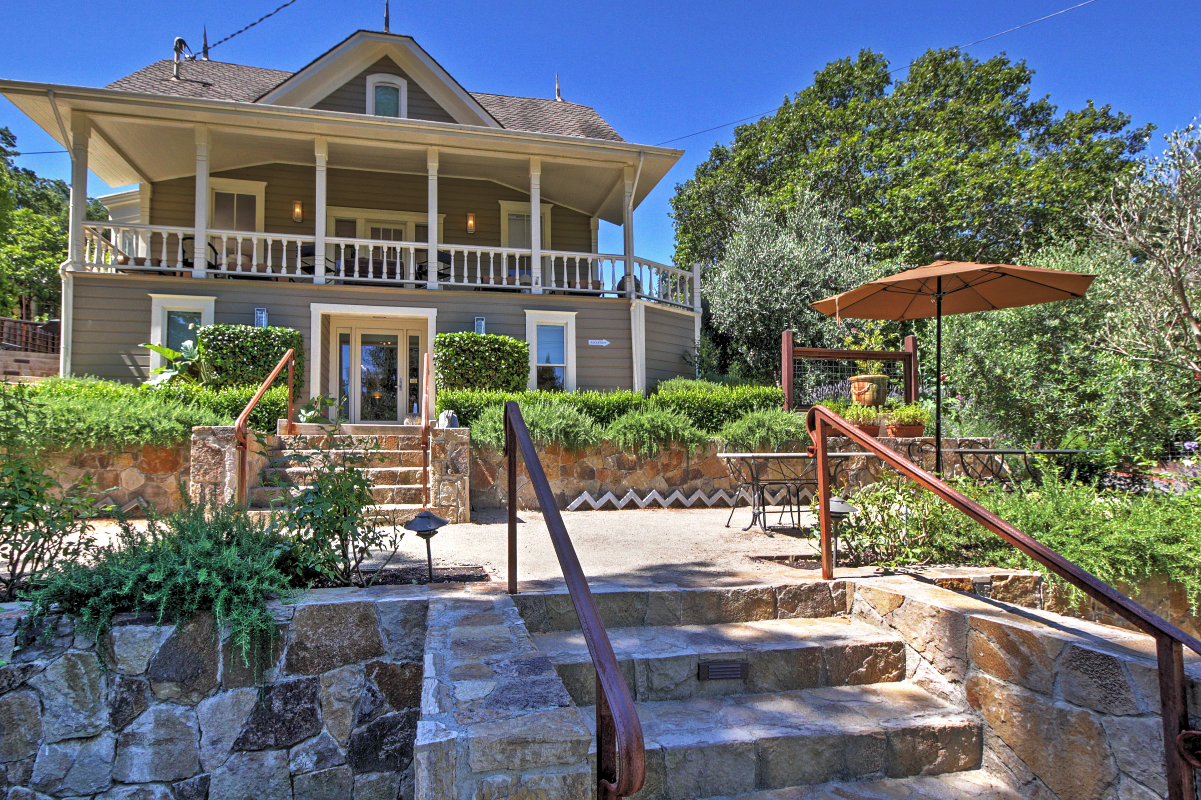 Explore Napa Valley while enjoying the luxuries of the 7BR, 7.5-bath home.