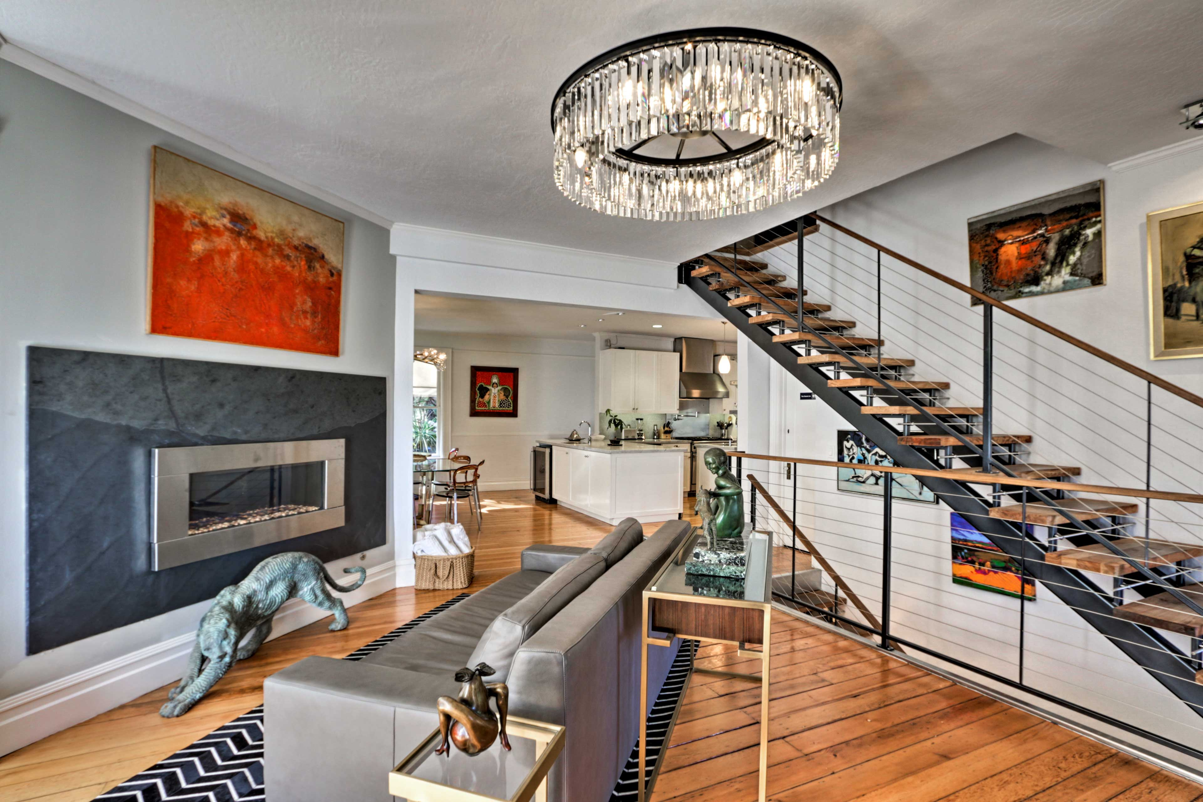 The lavish interior will make you feel like royalty.