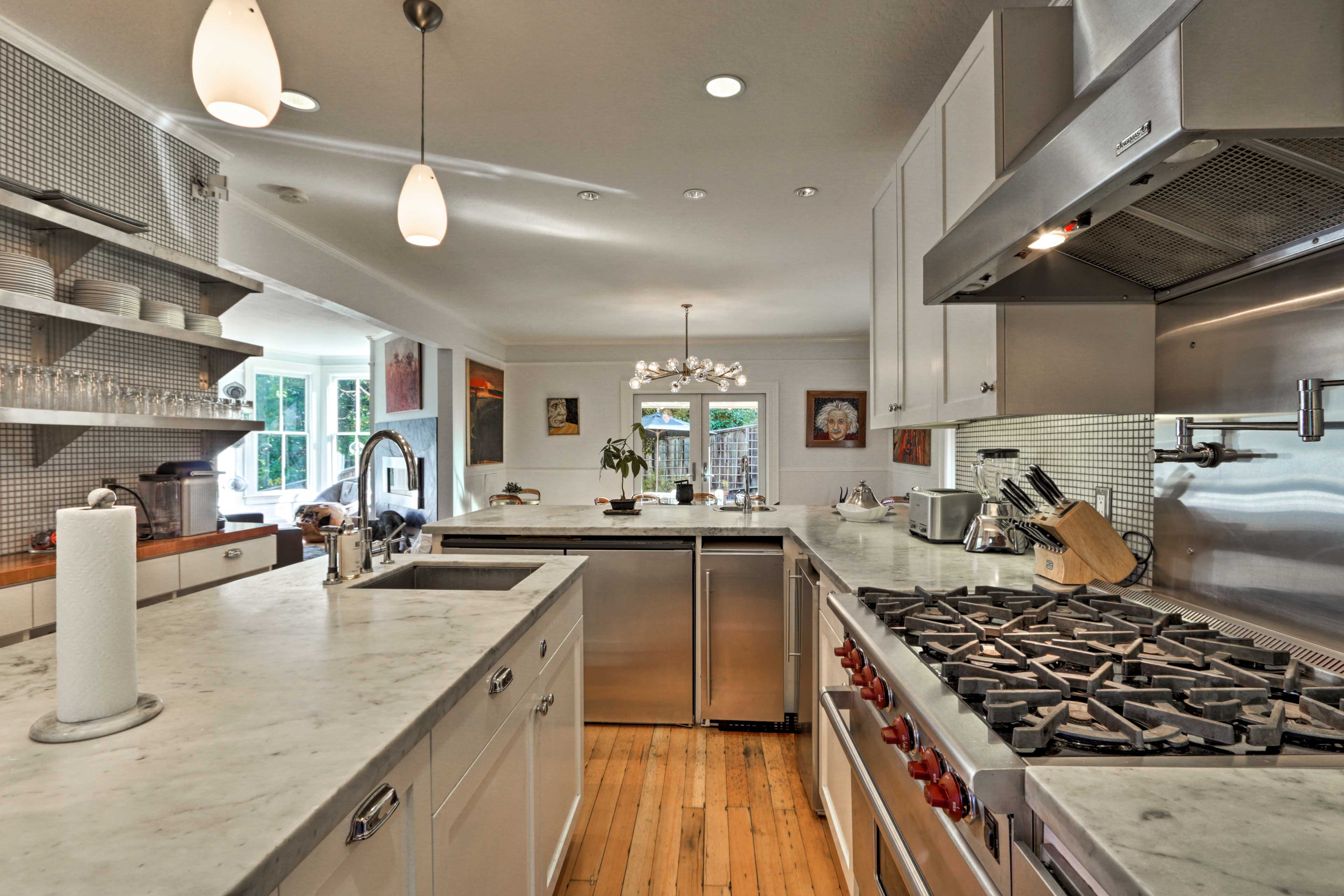 It's truly a cook's dream kitchen!