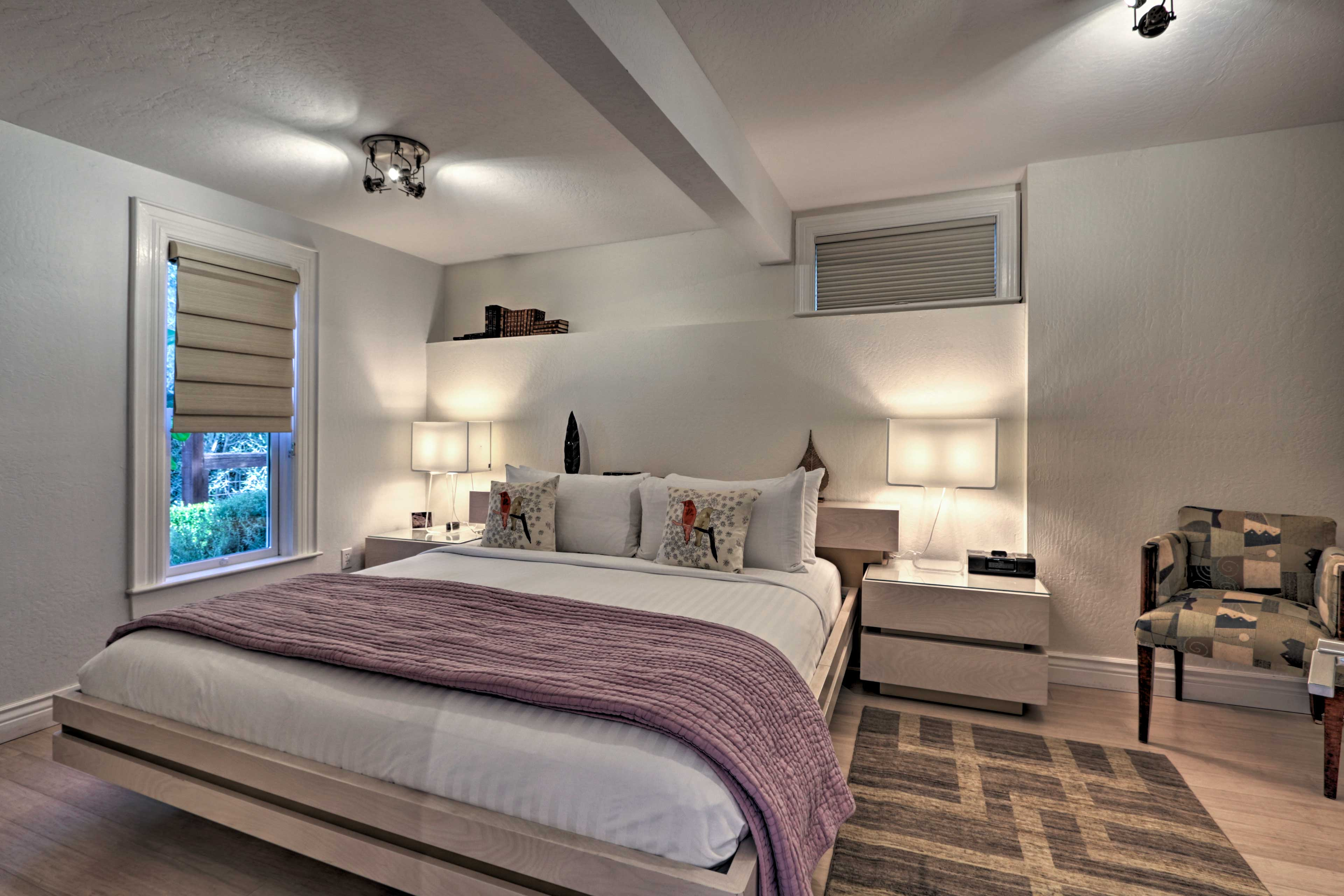 Cozy up in one of 7 inviting bedrooms for a good night's rest.