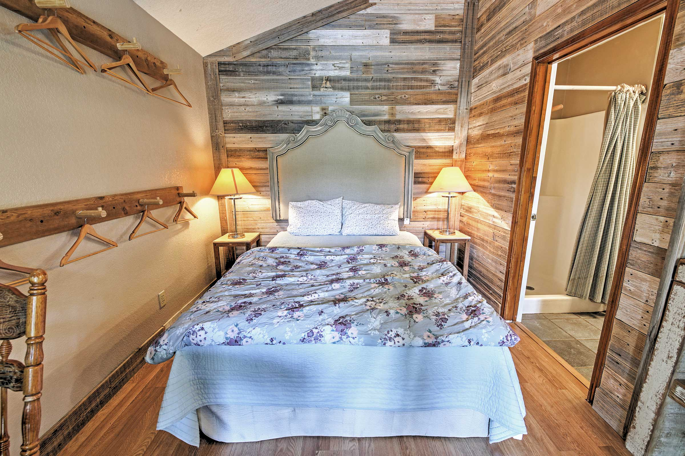 This alluring bed is calling your name!