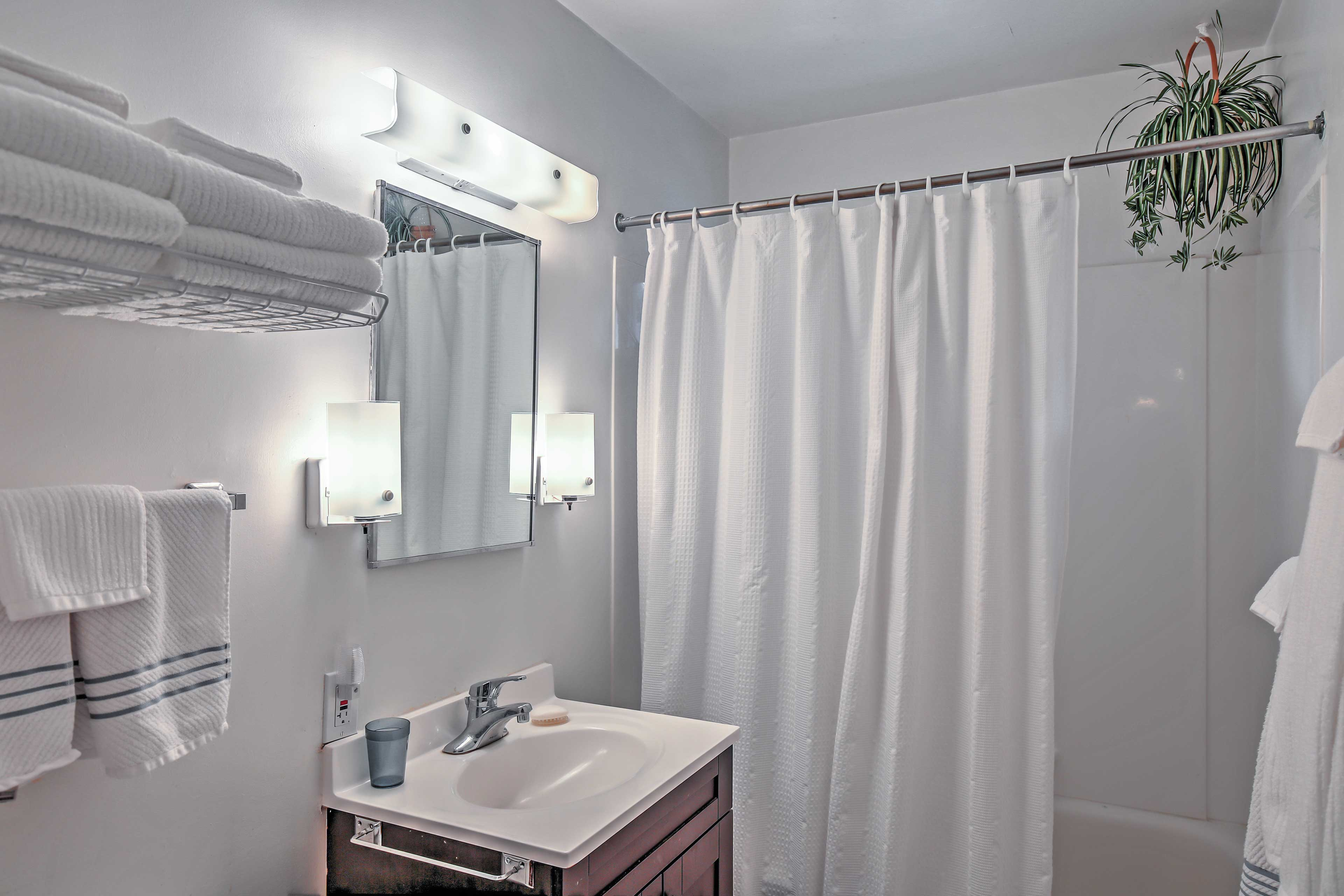 You'll discover all the necessary comforts of home during your stay.