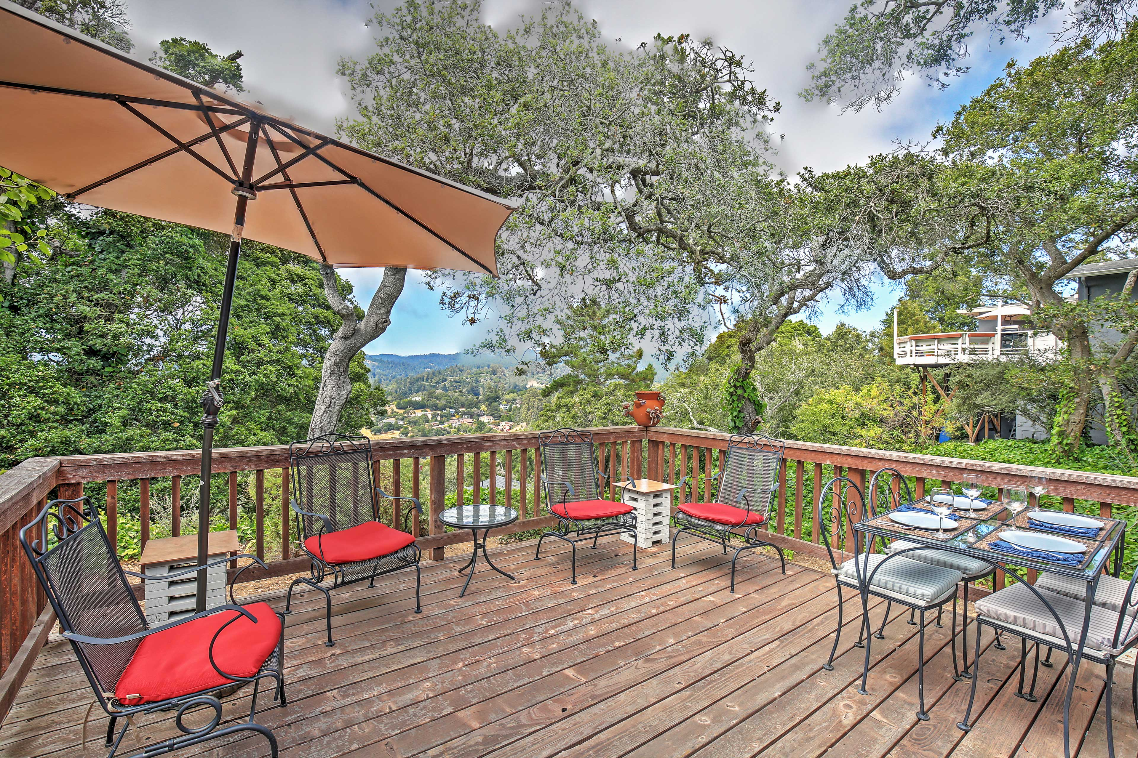 You'll look forward to relaxing on the large exterior deck.