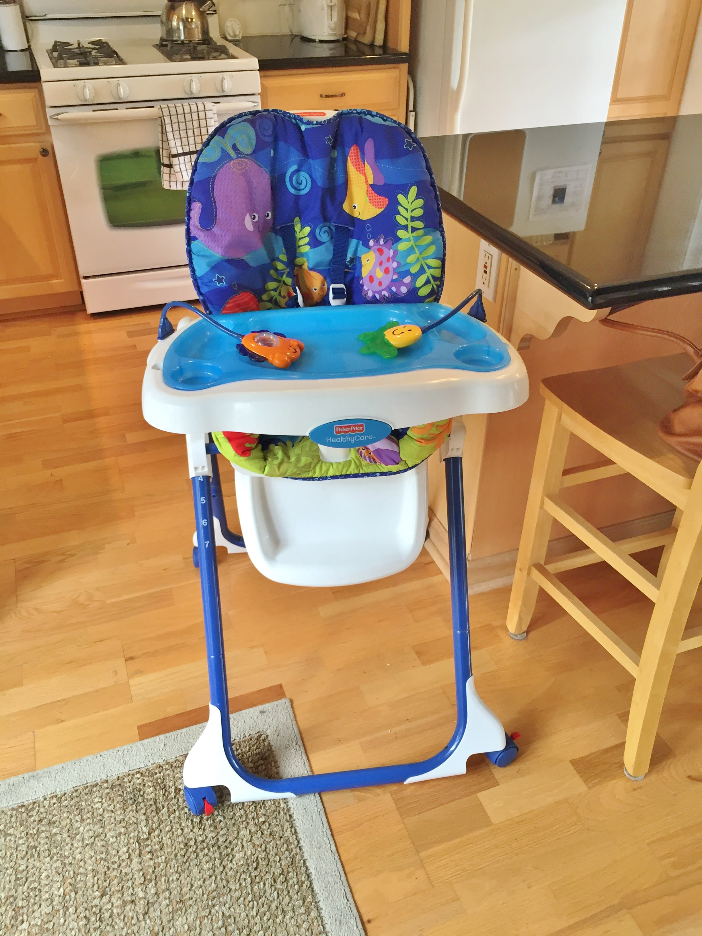 A high chair will be provided for the little ones.