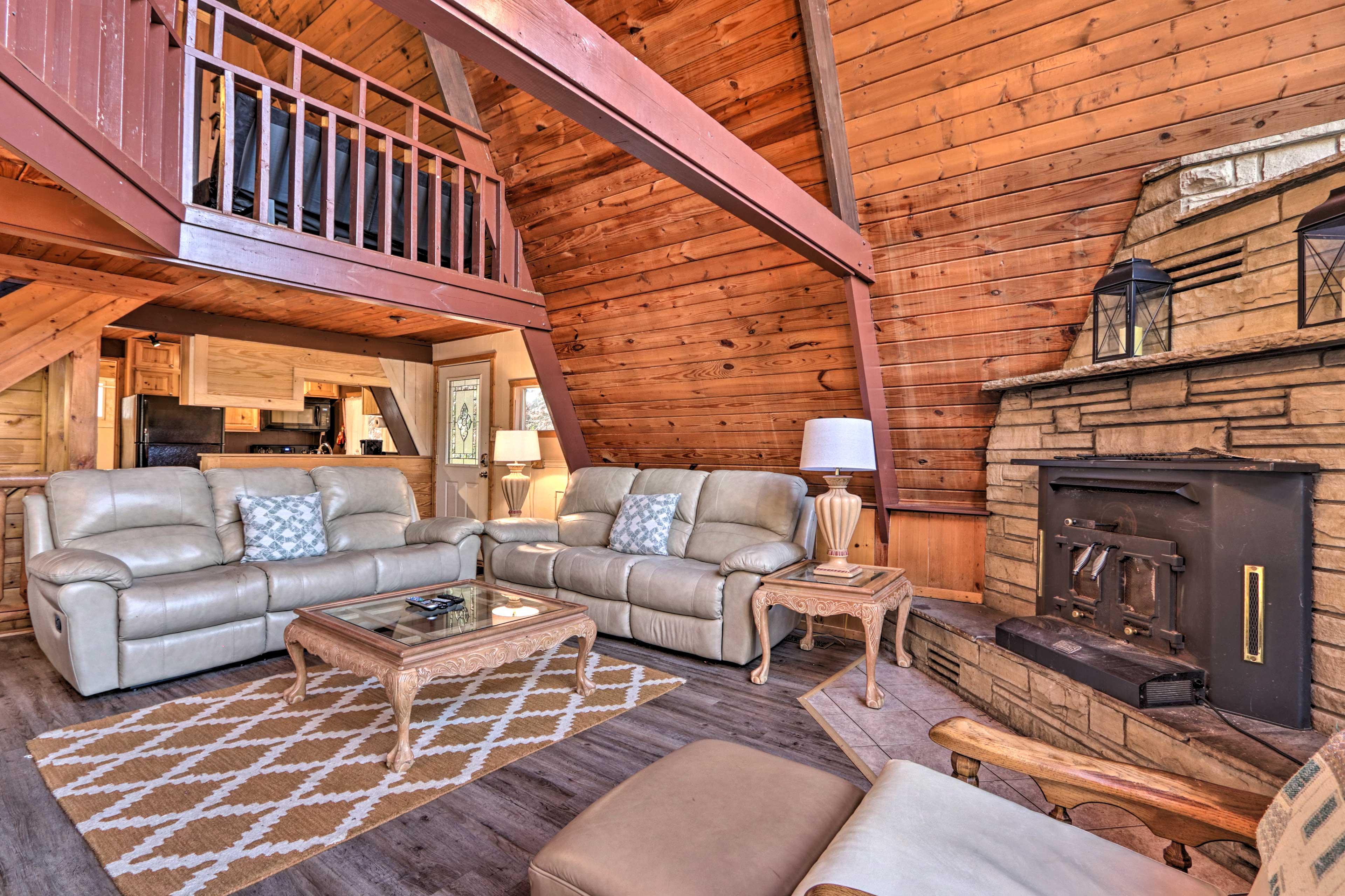 Property Interior | Open-Concept Living Area | Free WiFi
