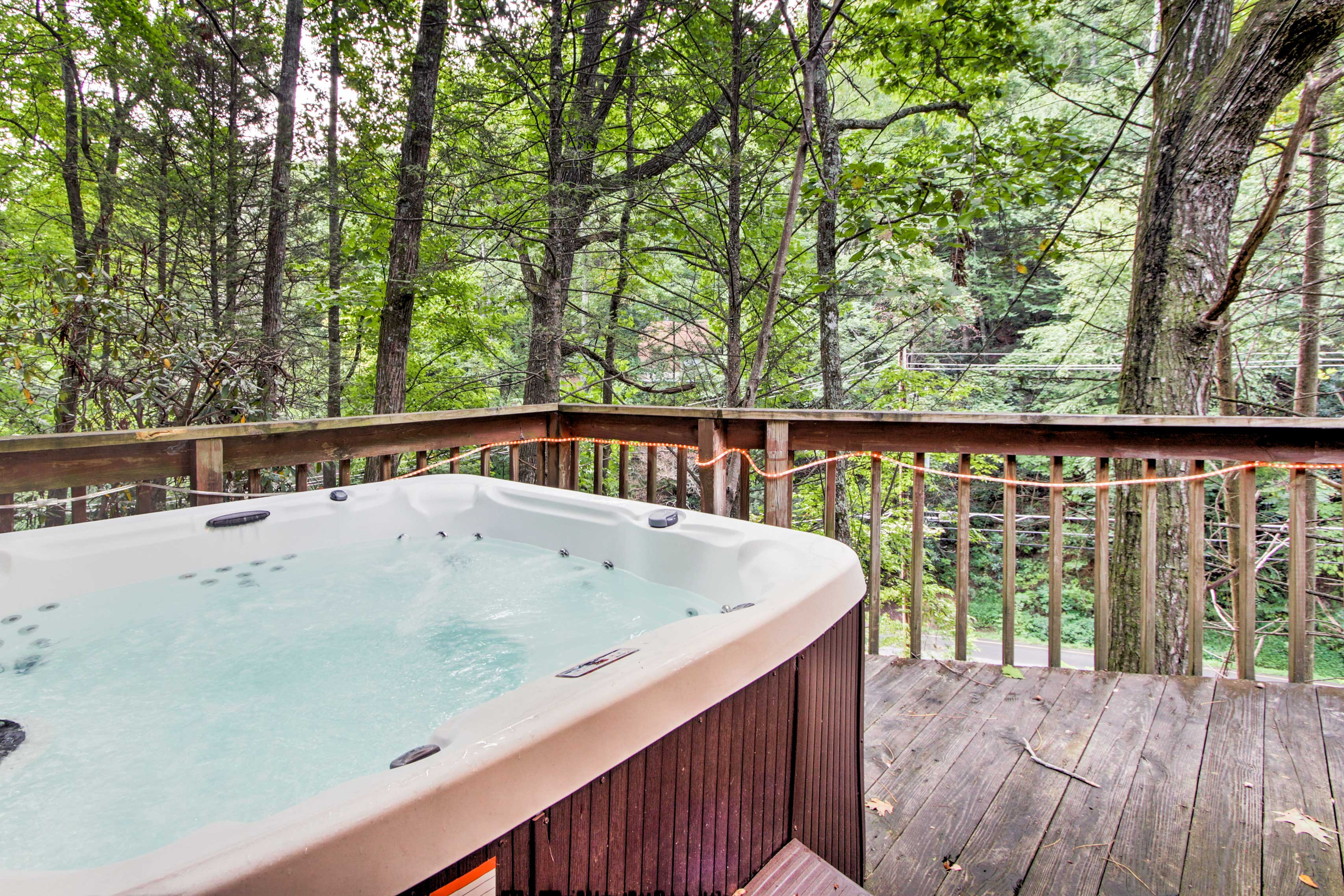 Private Deck | Hot Tub | Stairs Required for Home Access