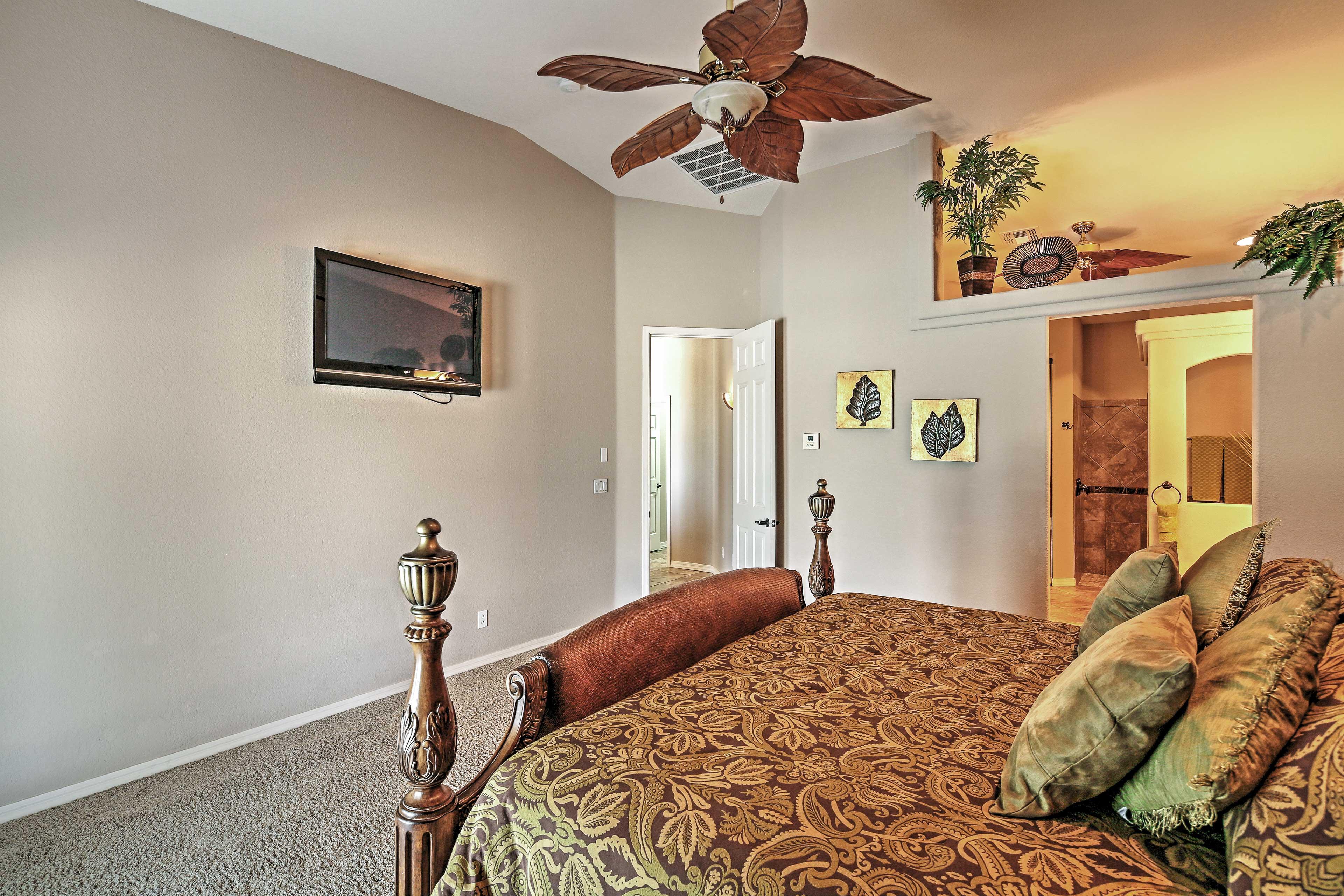 Bedroom 1   En-Suite Bathroom   Patio Access
