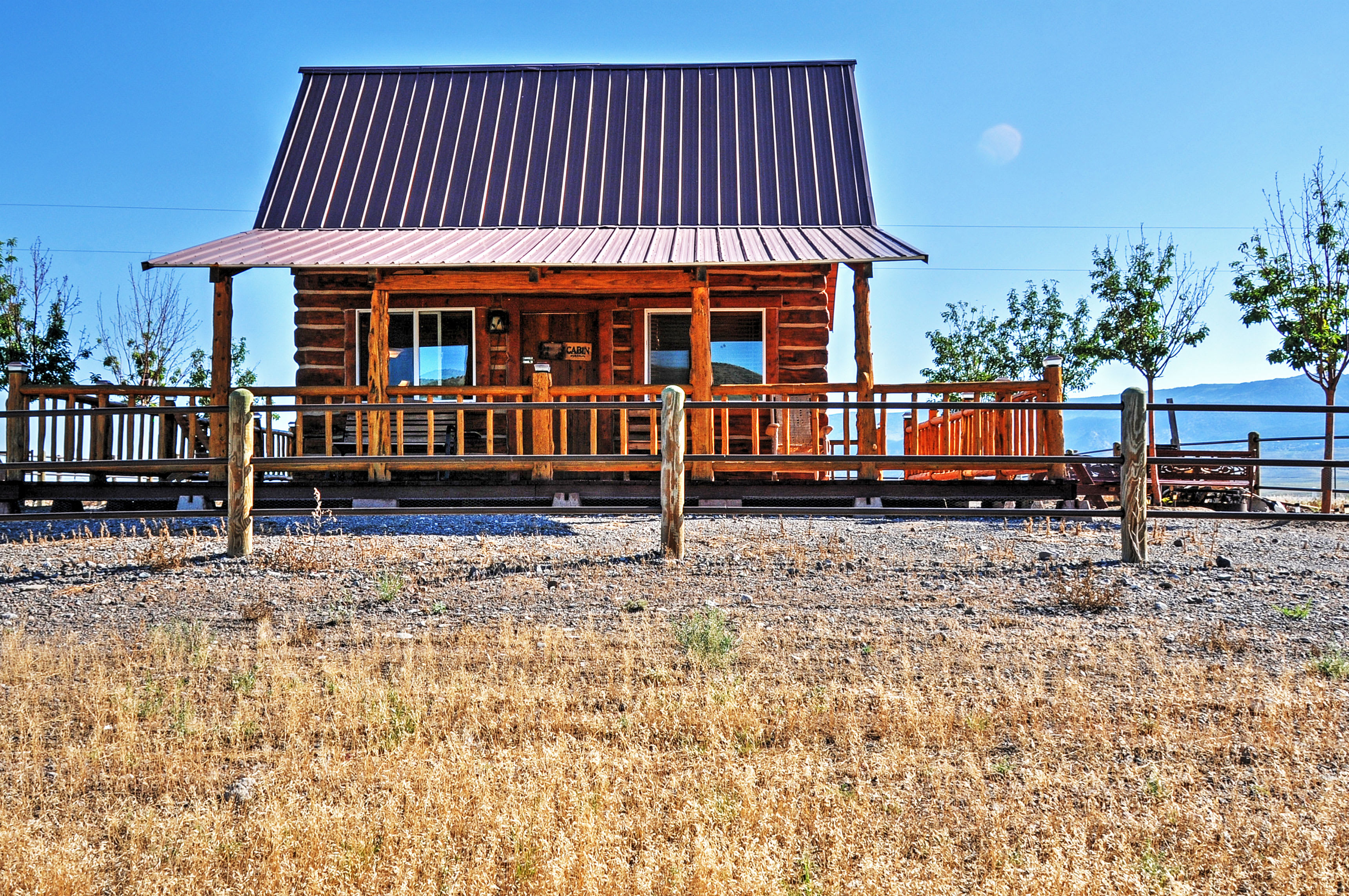 This ranch-style getaway is the perfect retreat for couples or small families!