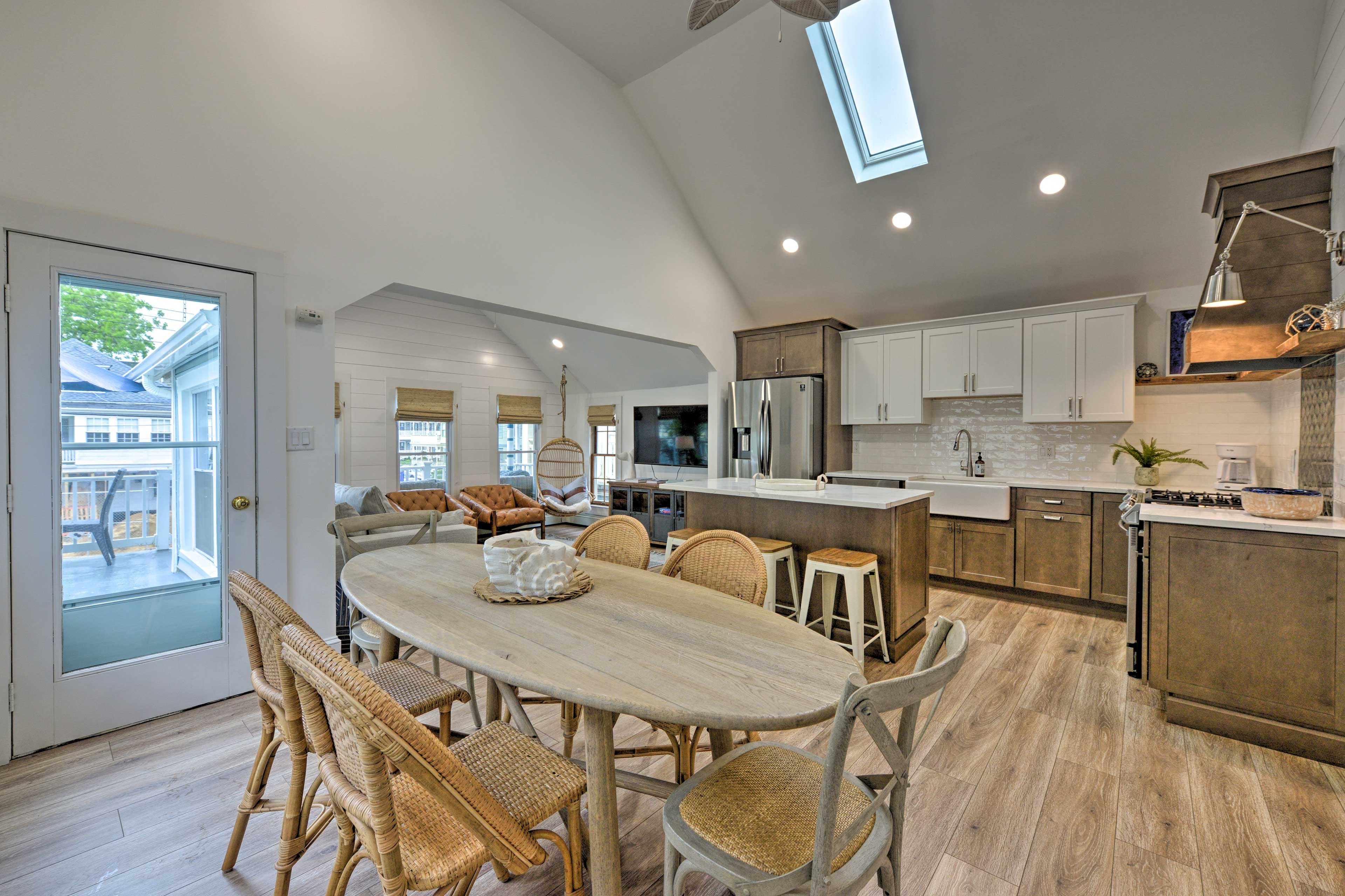 Dining Area | Skylights | High Ceilings