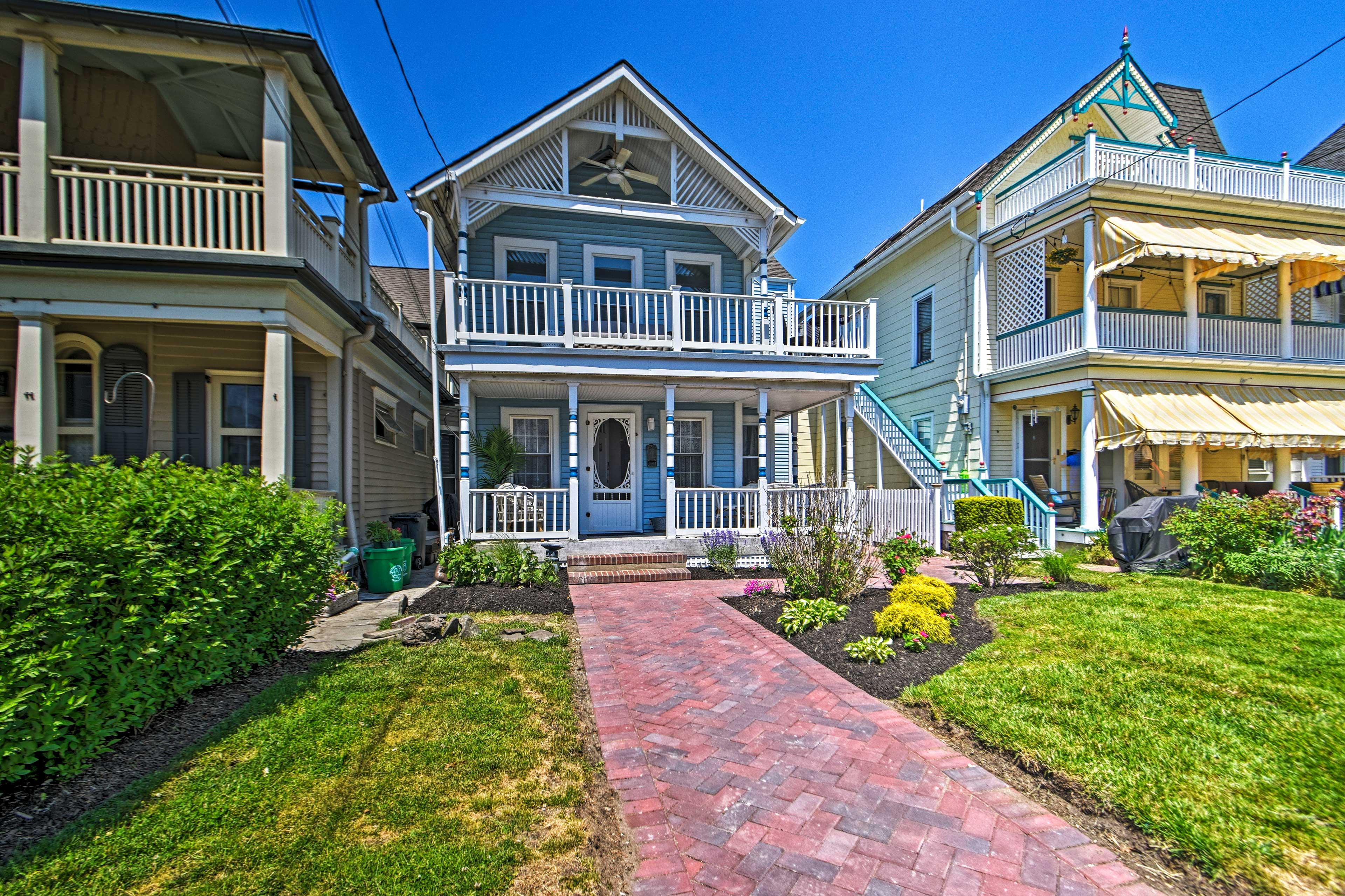 Exterior | Historic/Coastal Neighborhood