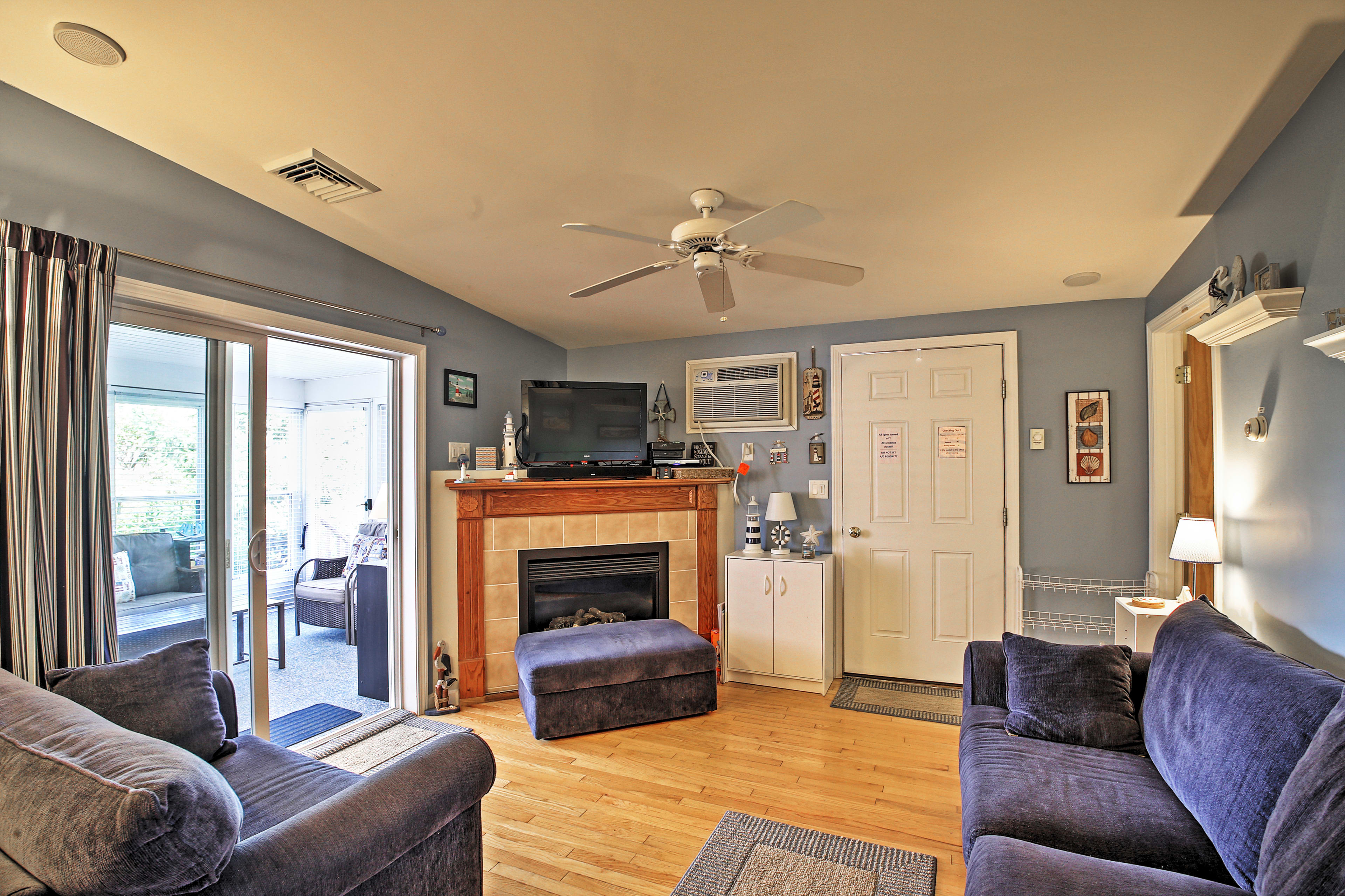 You'll feel right at home in this comfortable abode.