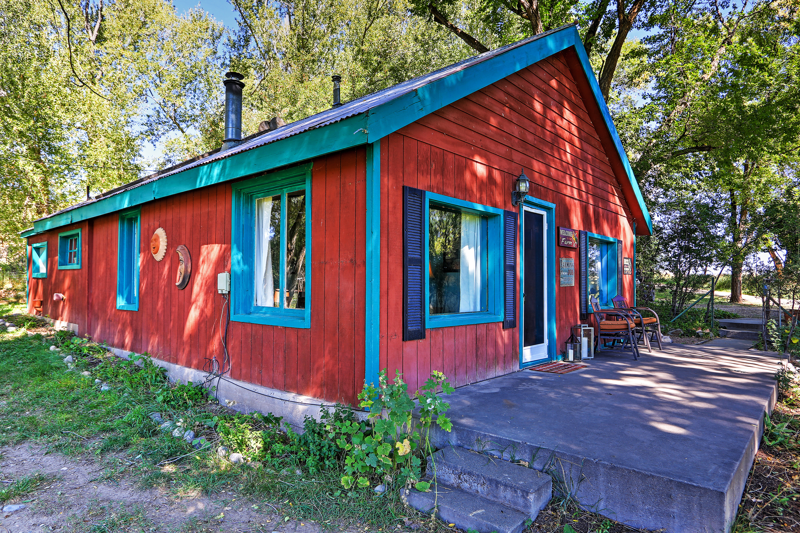 This quaint Durango vacation rental house is perfect for a restful escape.