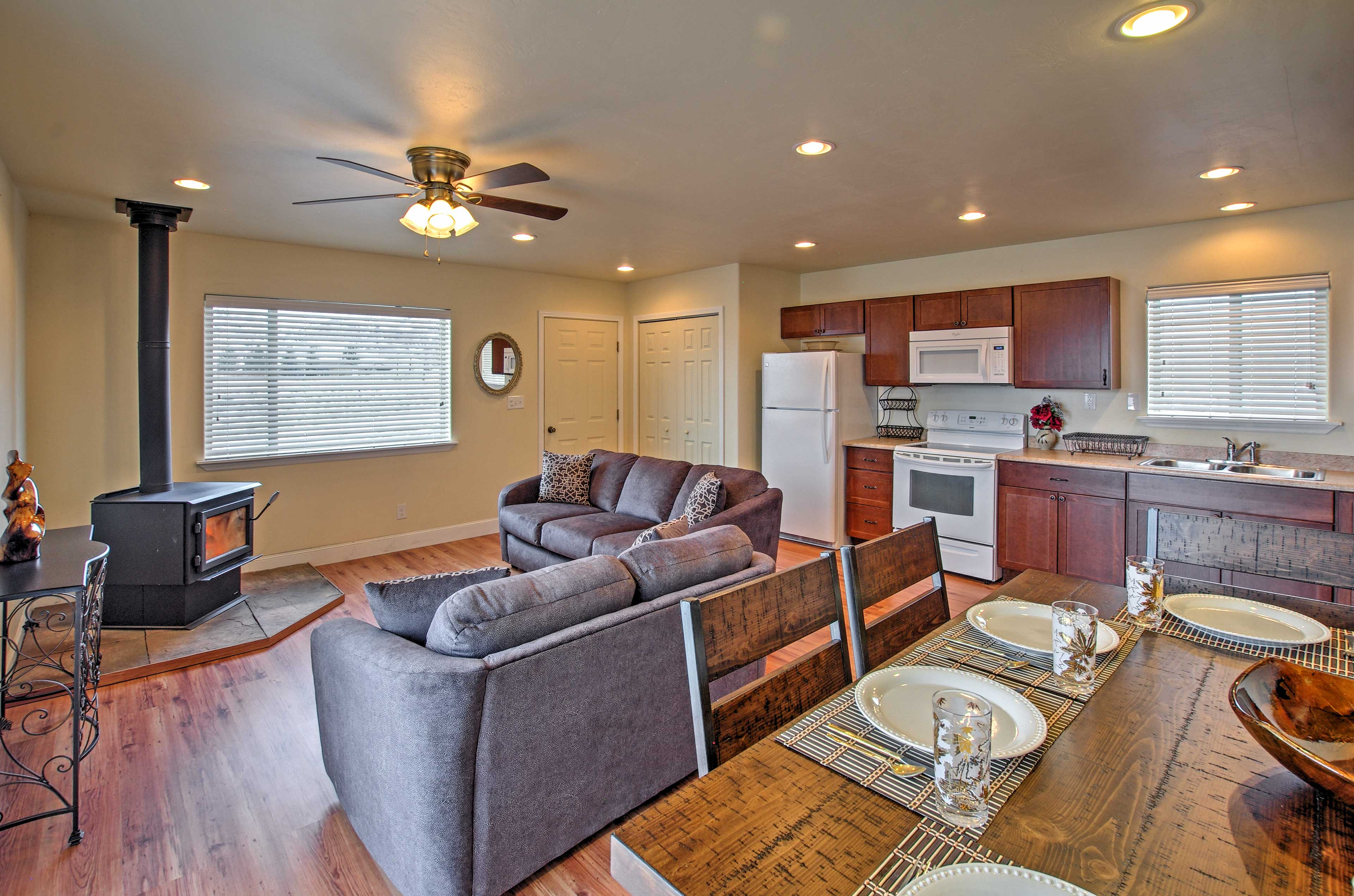 You'll love the open concept of this property.