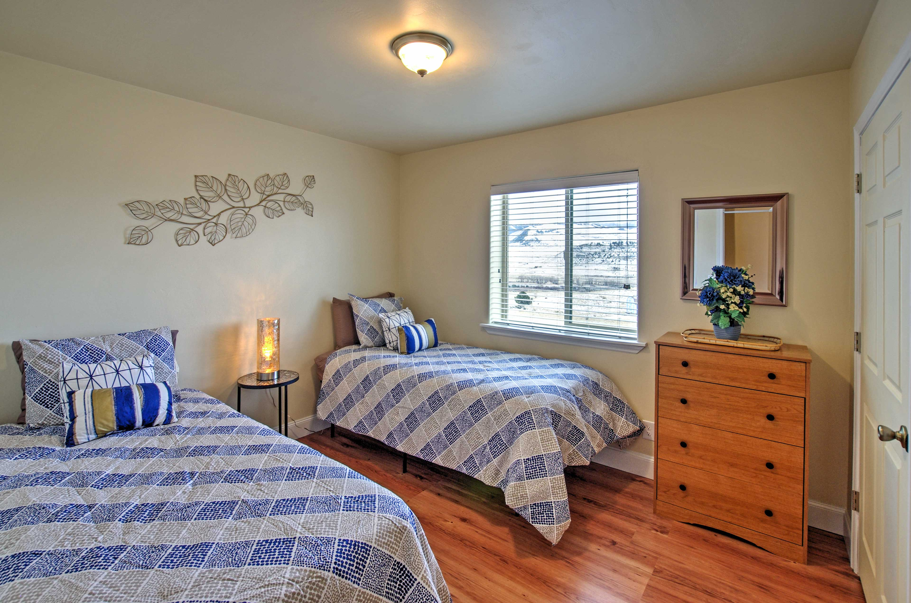 The kids will love the 2nd bedroom.