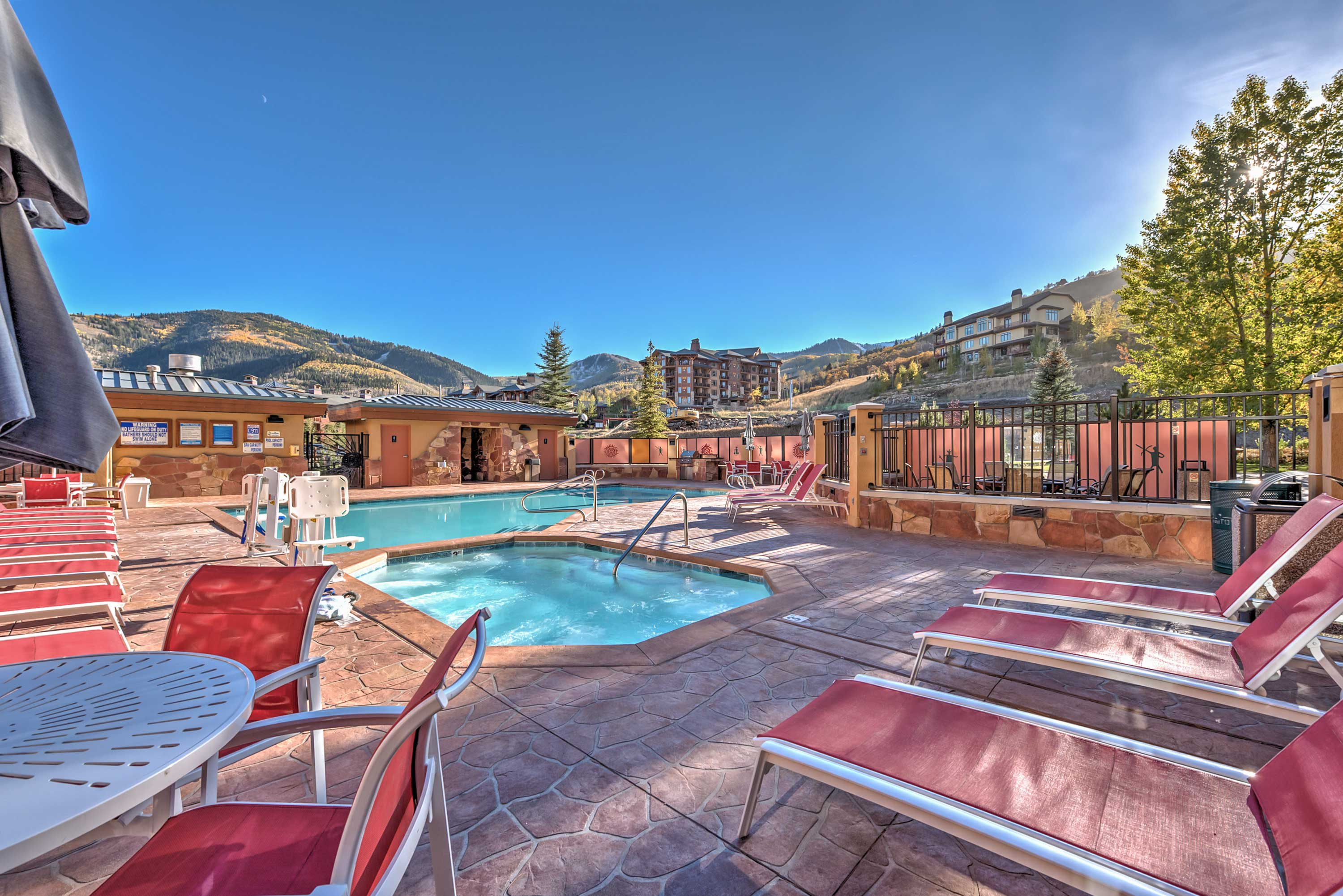 Head to Park City for a stay at this vacation rental.