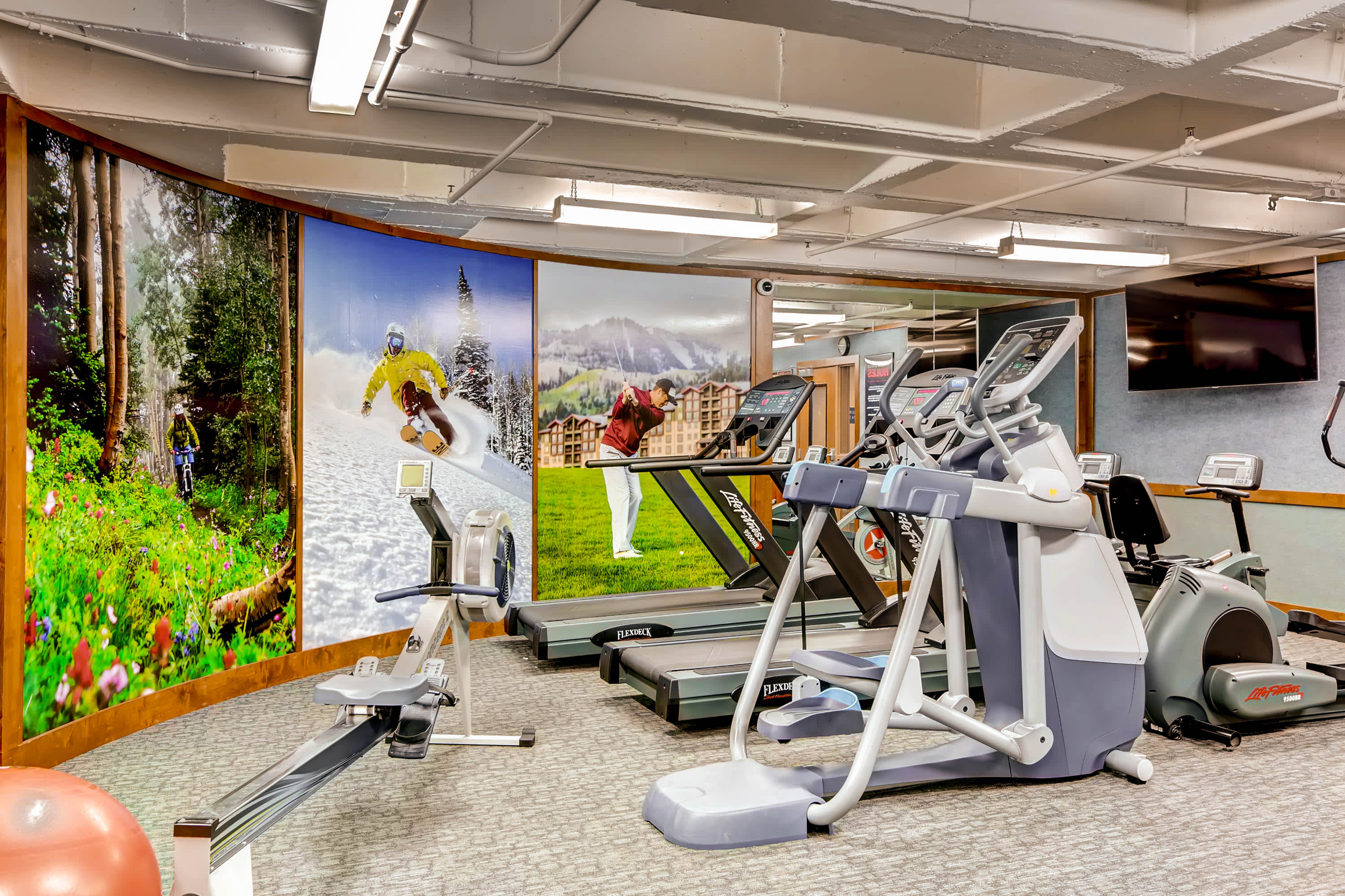 Access to the fitness facility is included for all guests.
