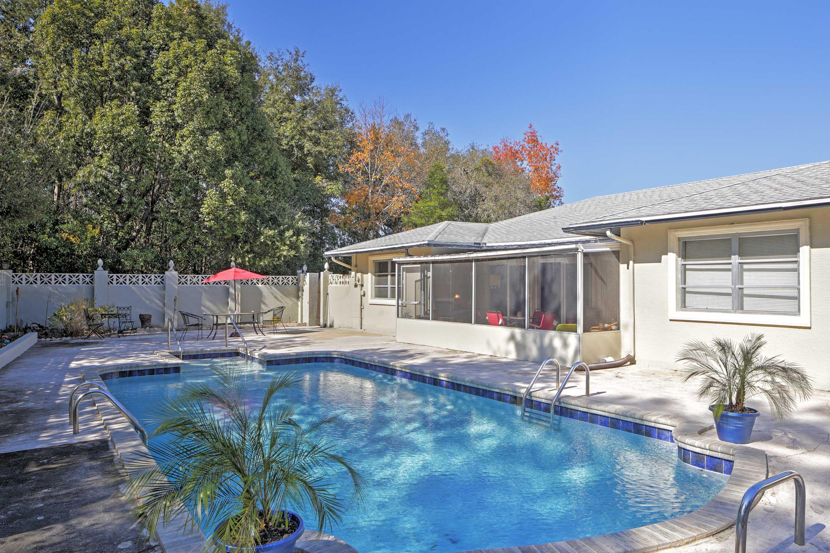 Citrus Springs Vacation Rental | 4BR | 2BA | Single Story | 1,700 Sq Ft