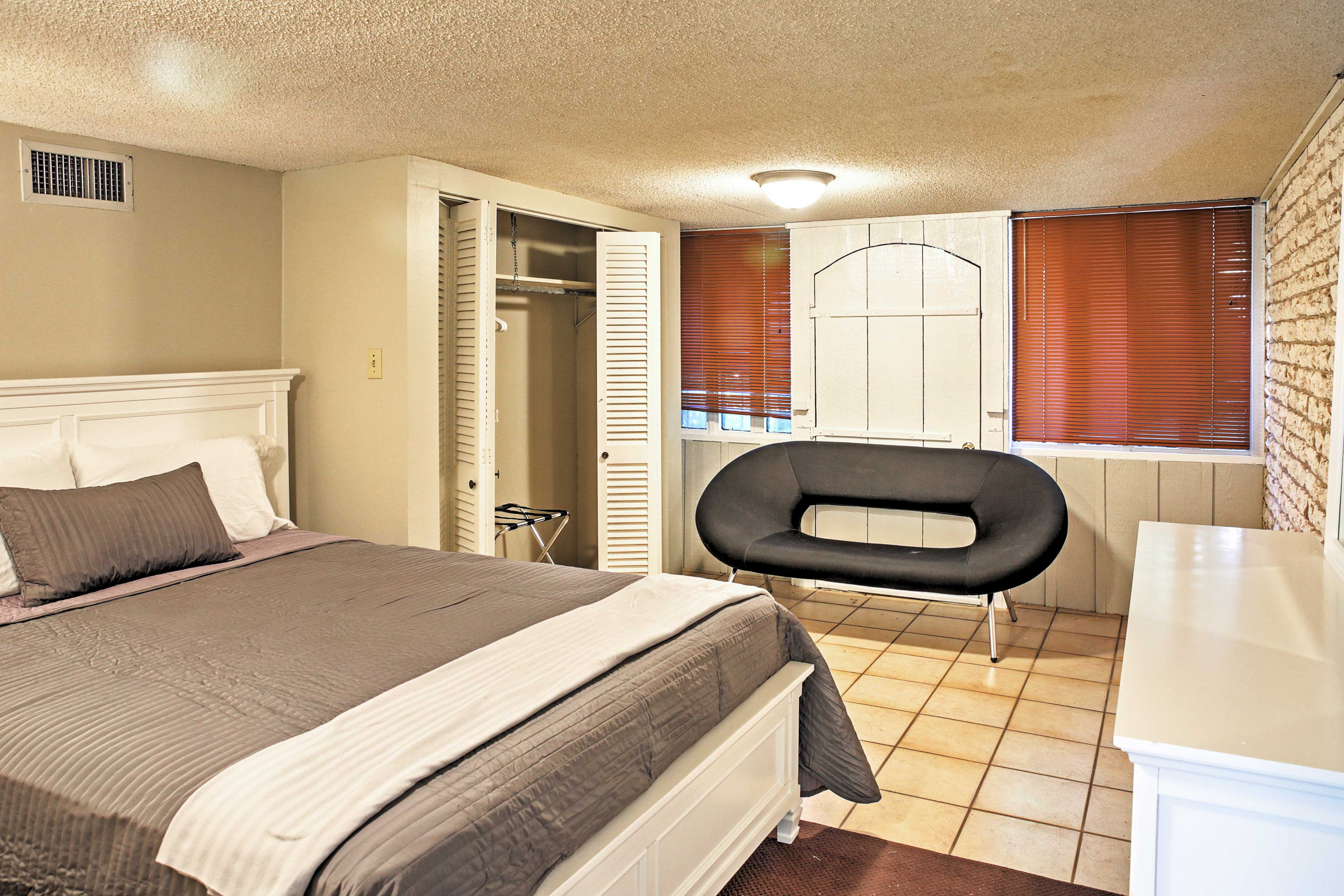 Look forward to great nights of sleep in this plush bed.