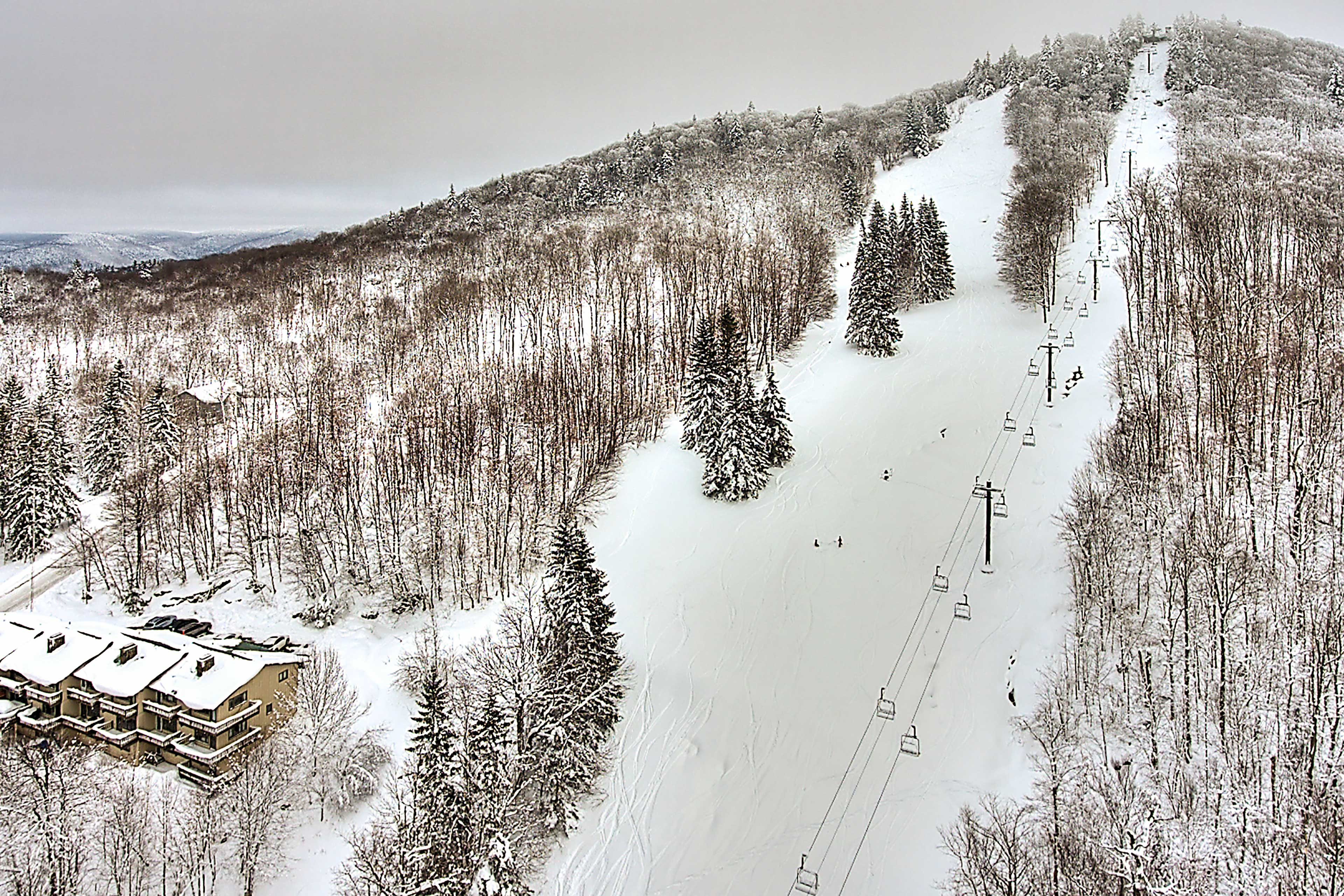 You'll love hitting the slopes in the winter.