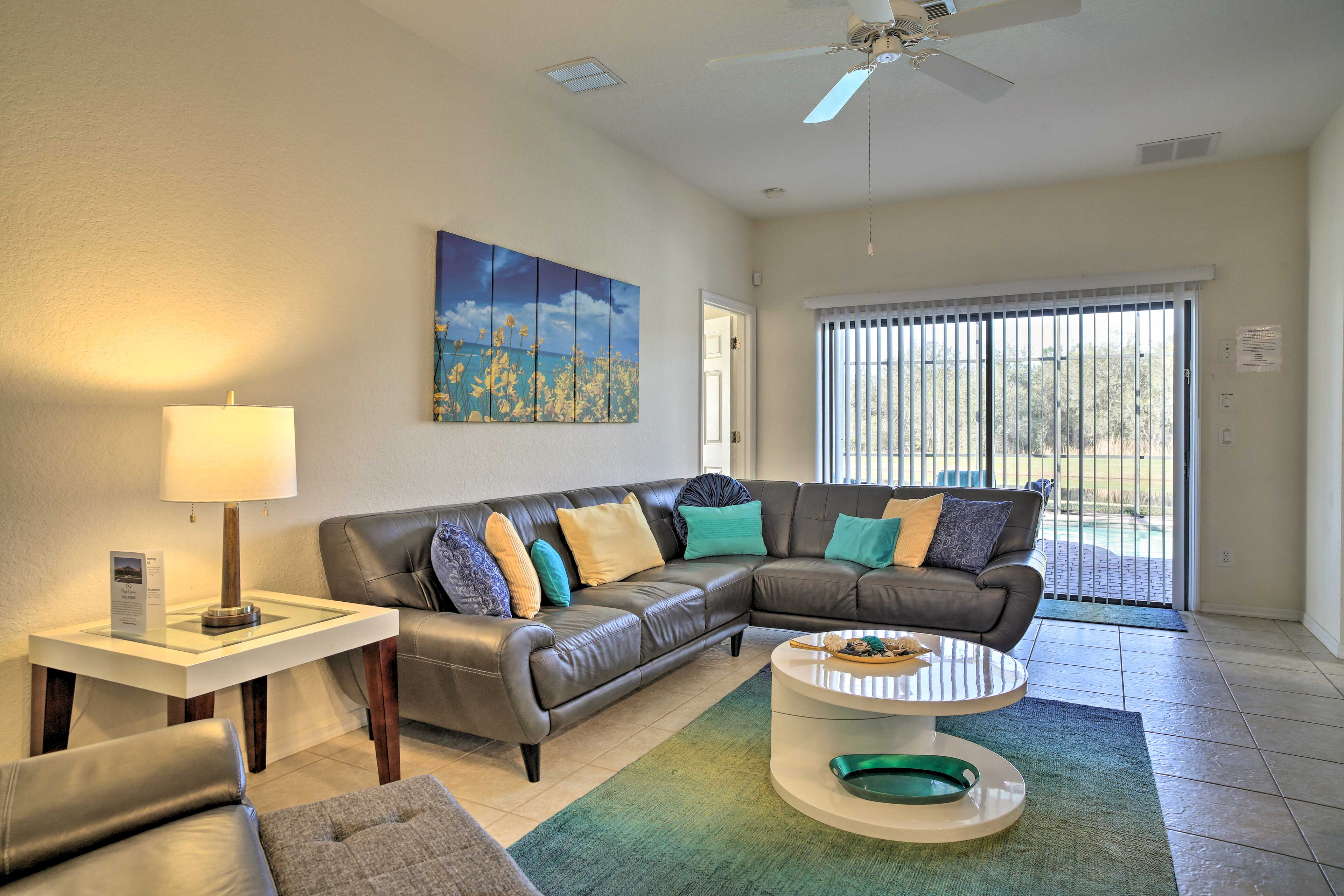 This home comfortably accommodates up to 8 guests.