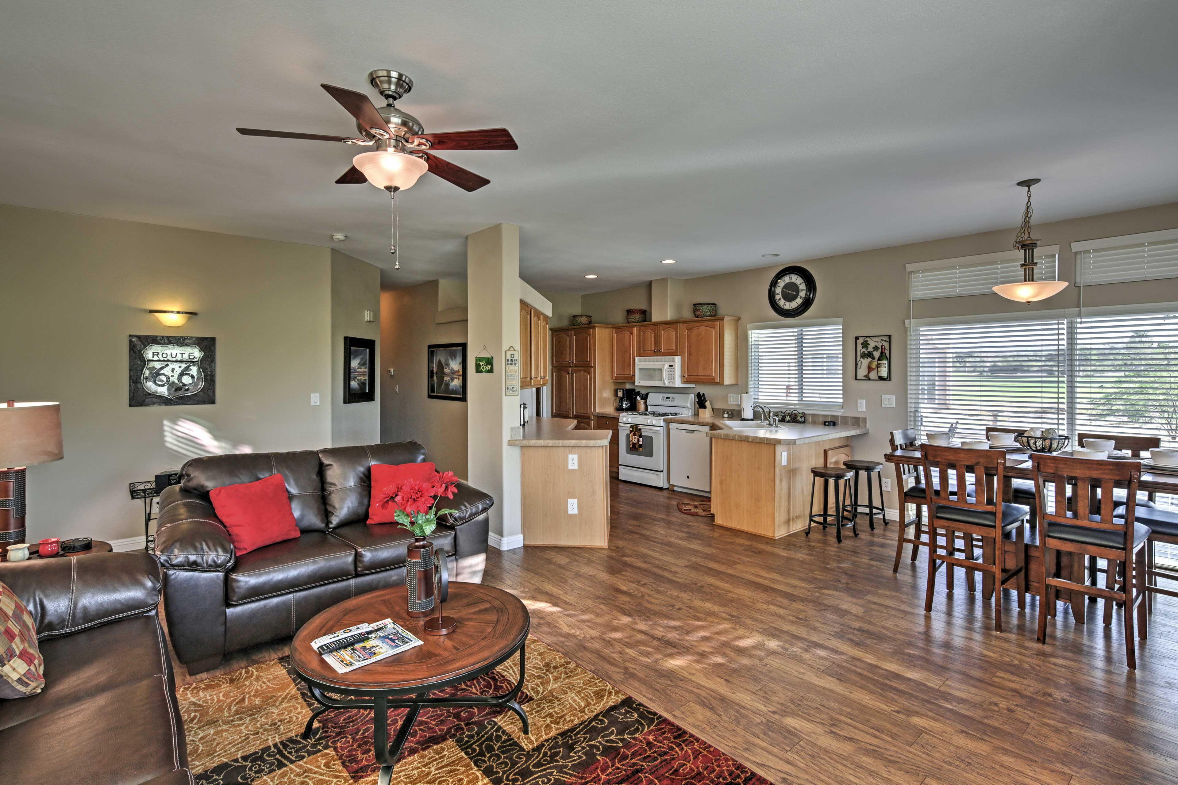 You'll look forward to returning home to the beautifully appointed living space.