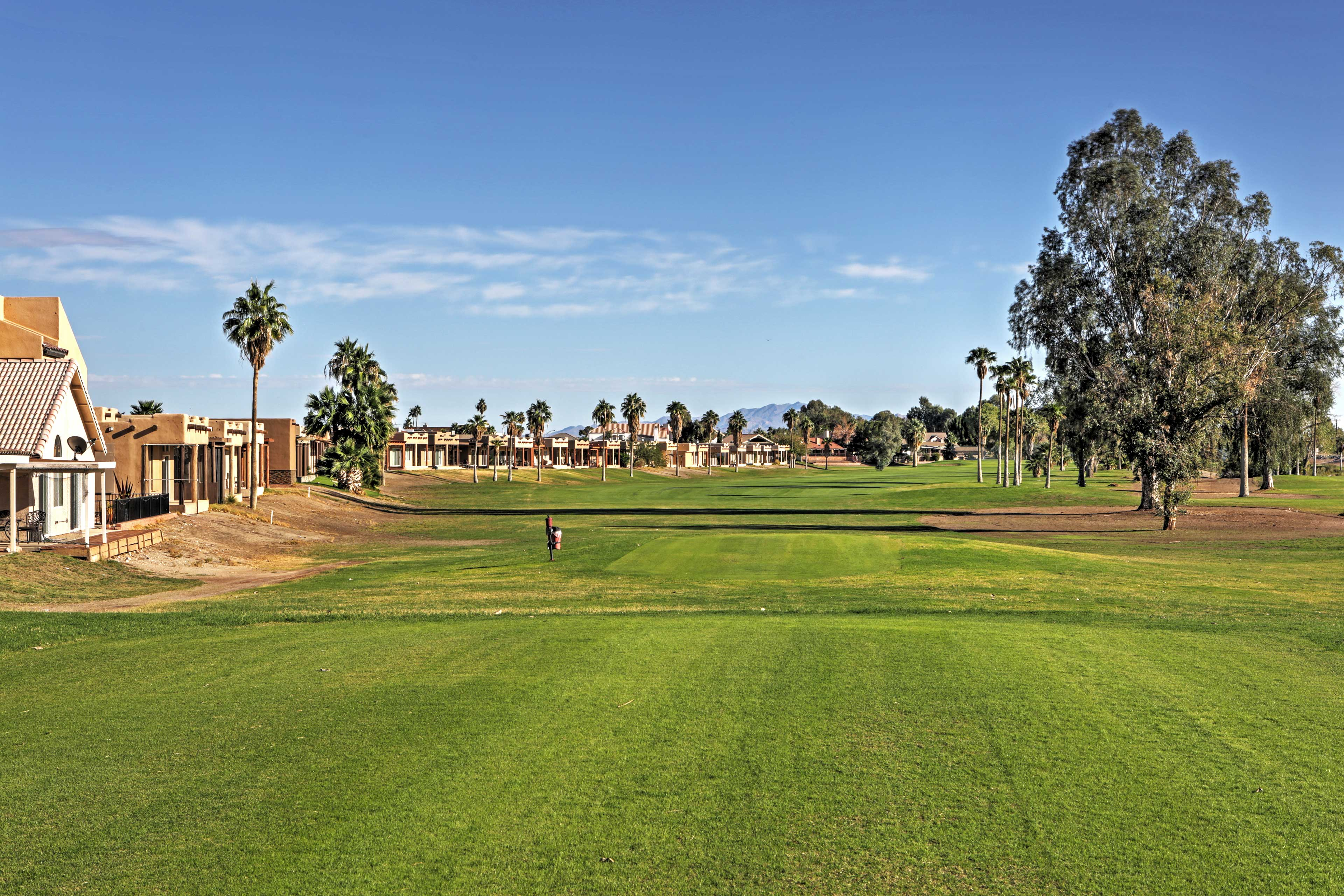Golfing enthusiasts will absolutely love their stay here!