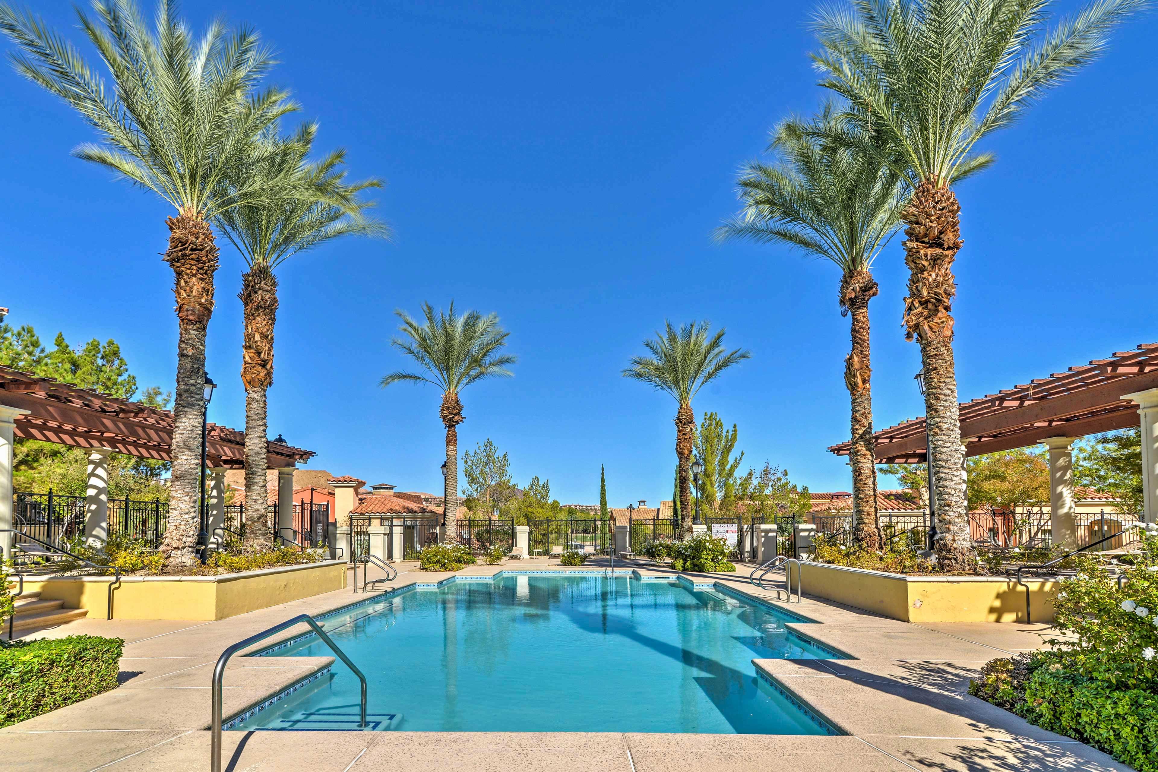 Utilize splendid resort amenities when you stay here.