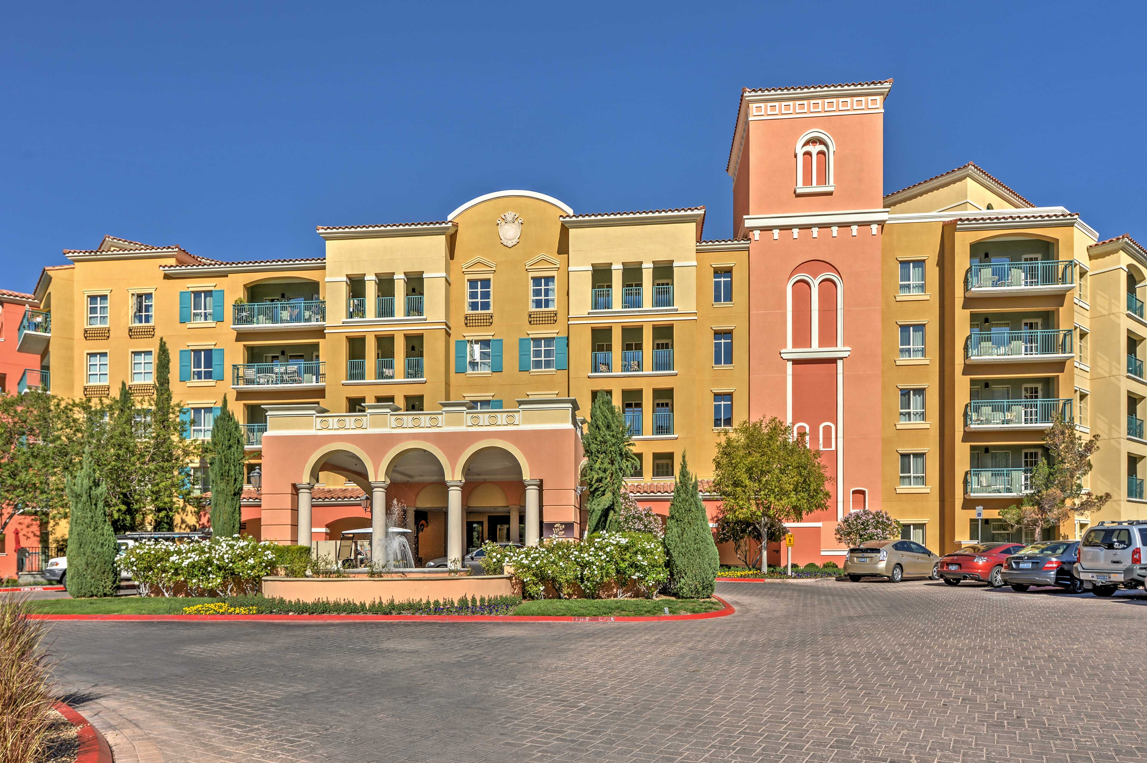 This resort is packed with numerous amenities.