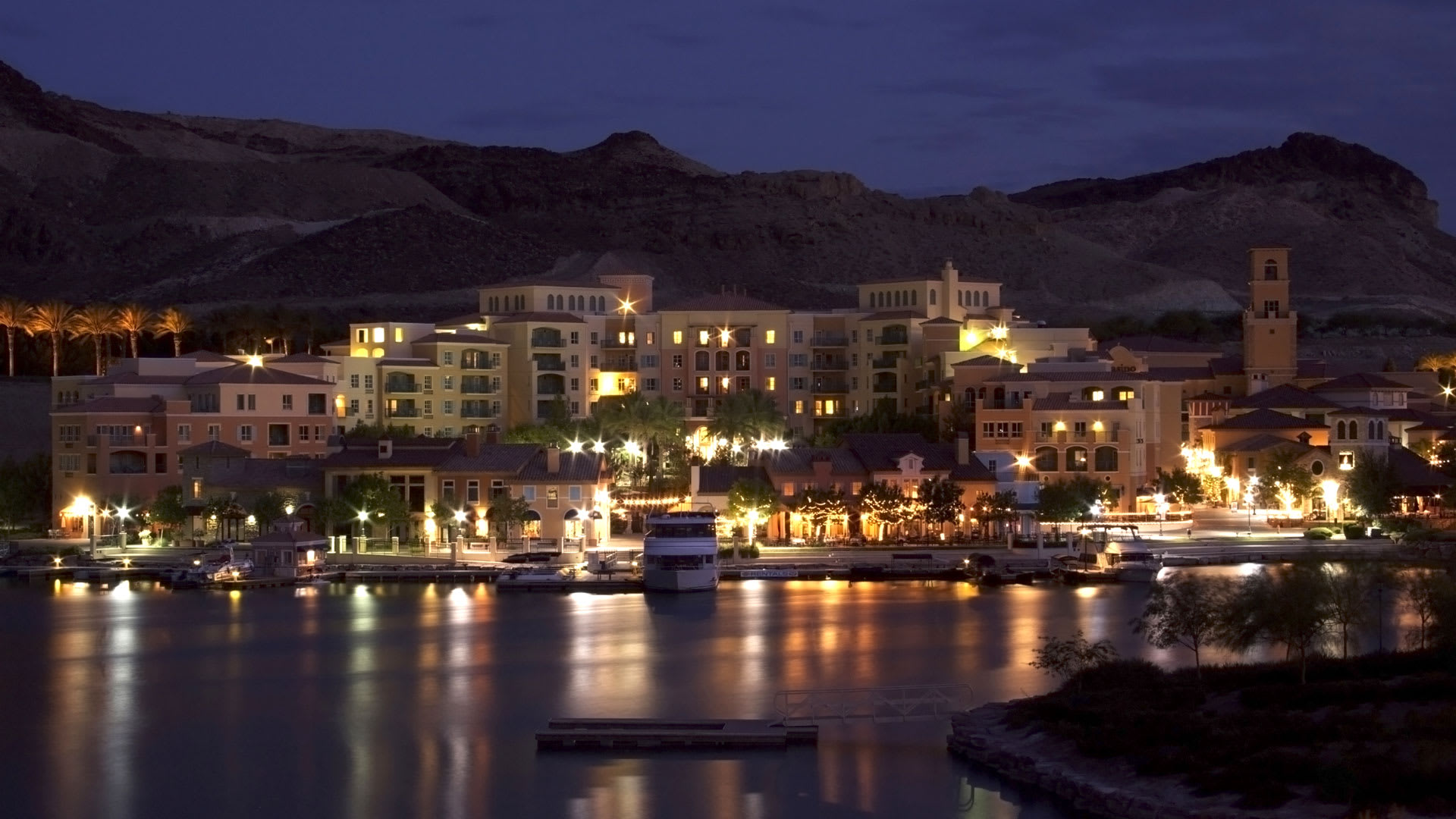 Montelago Village at night- pure magic!