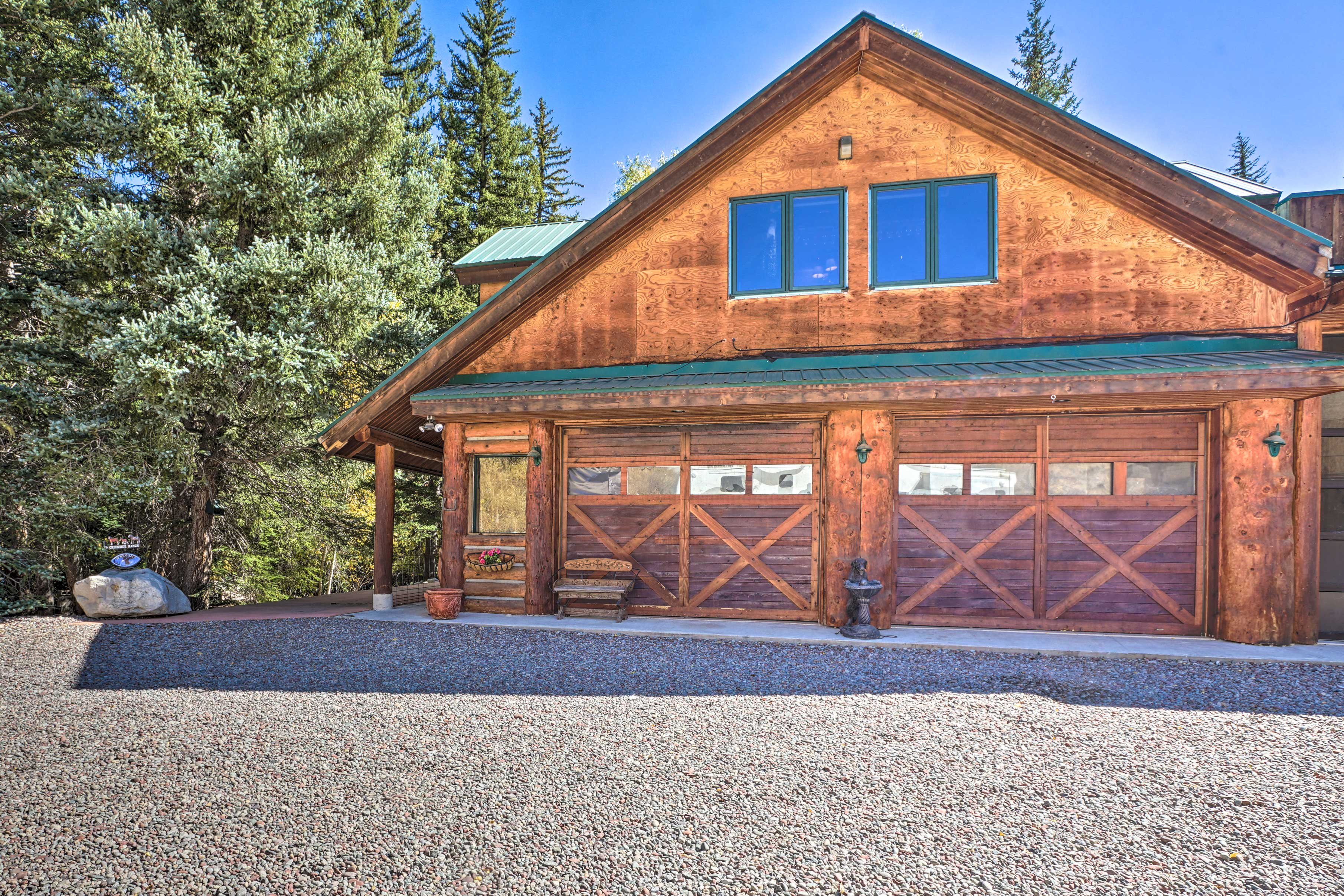 You'll be just minutes from downtown Aspen!