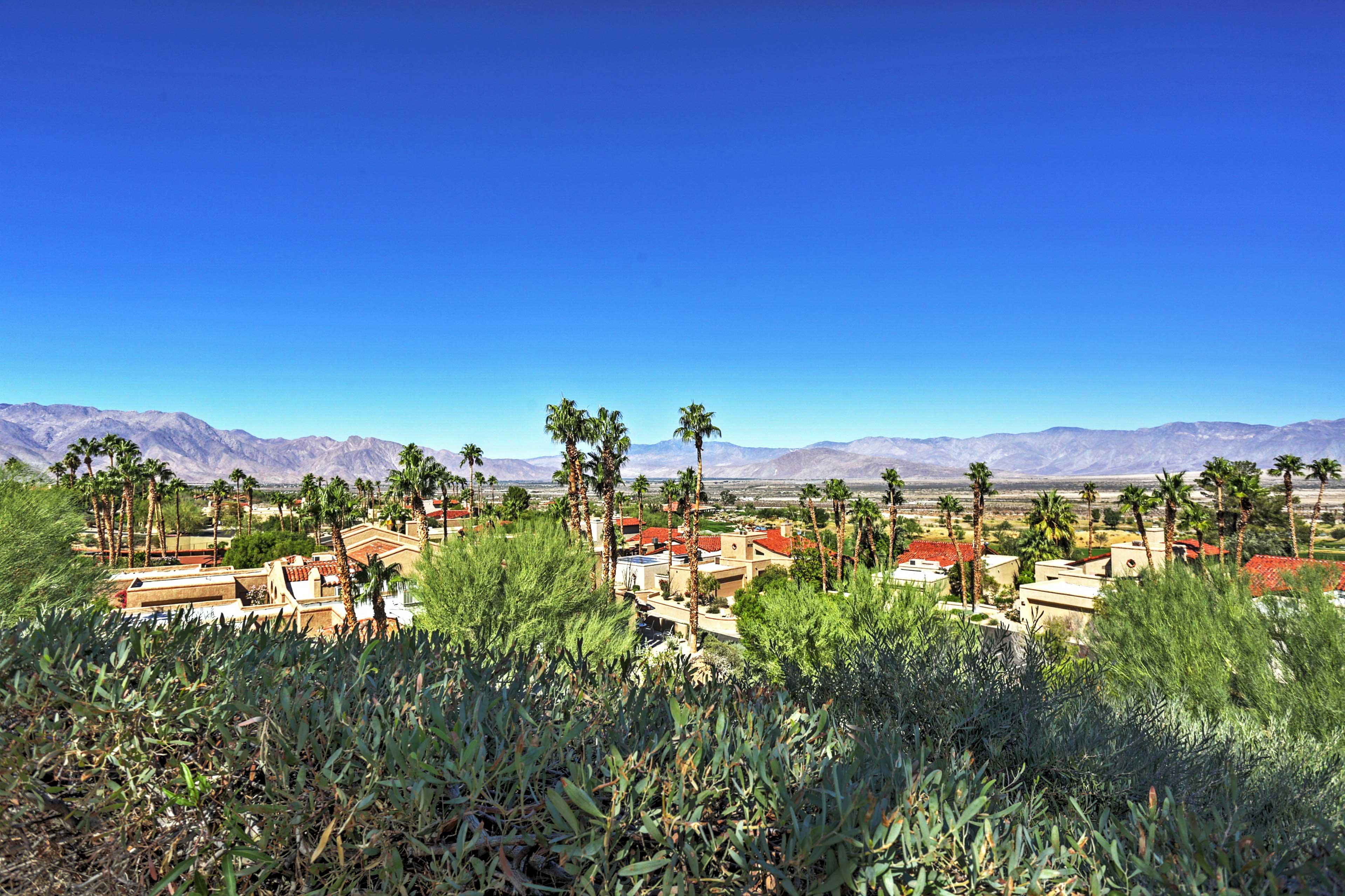 Enjoy stunning views from the backyard!