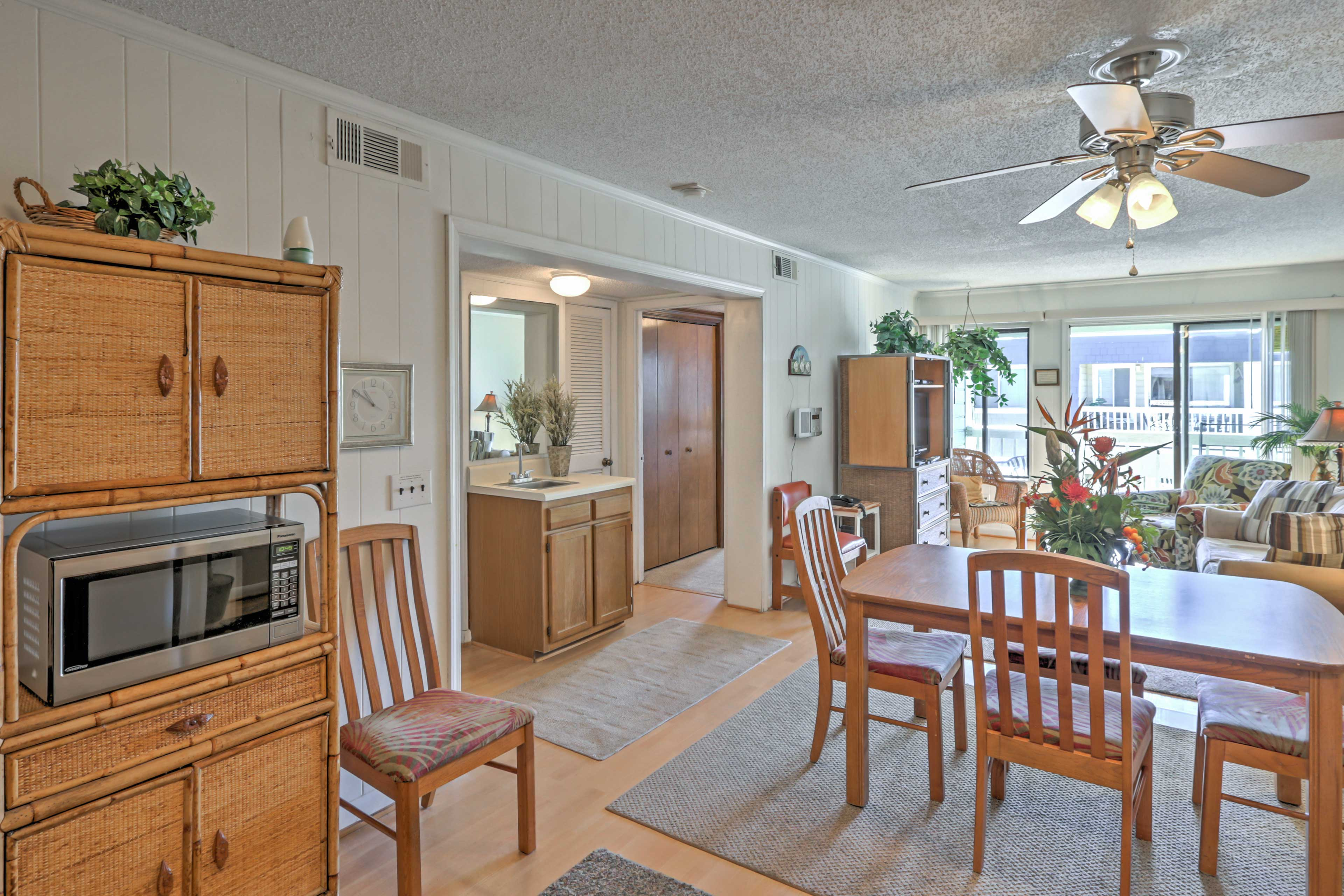You'll love the layout of this Isle of Palms condo.