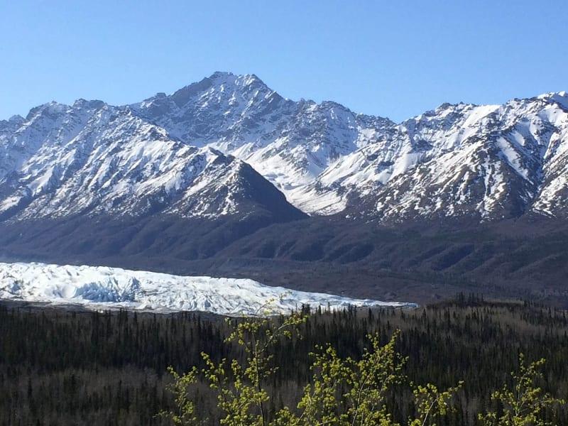 Enjoy breathtaking glacier views!