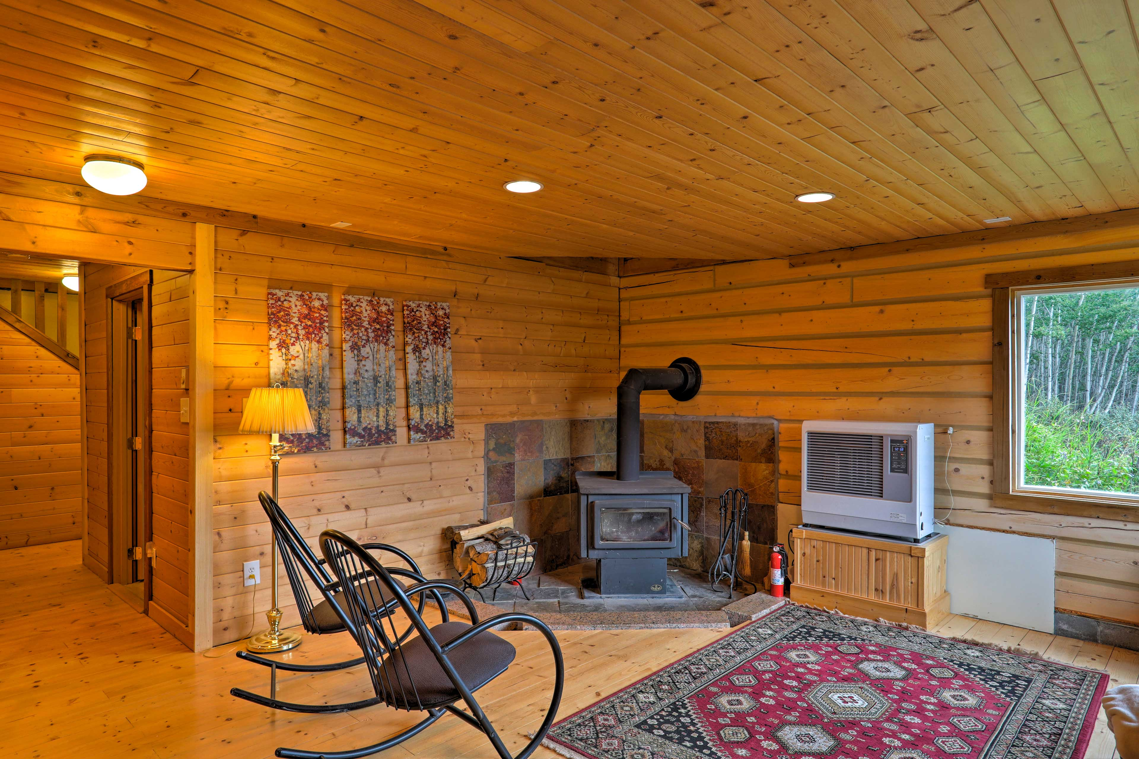 This cabin offers plenty of peace and privacy!