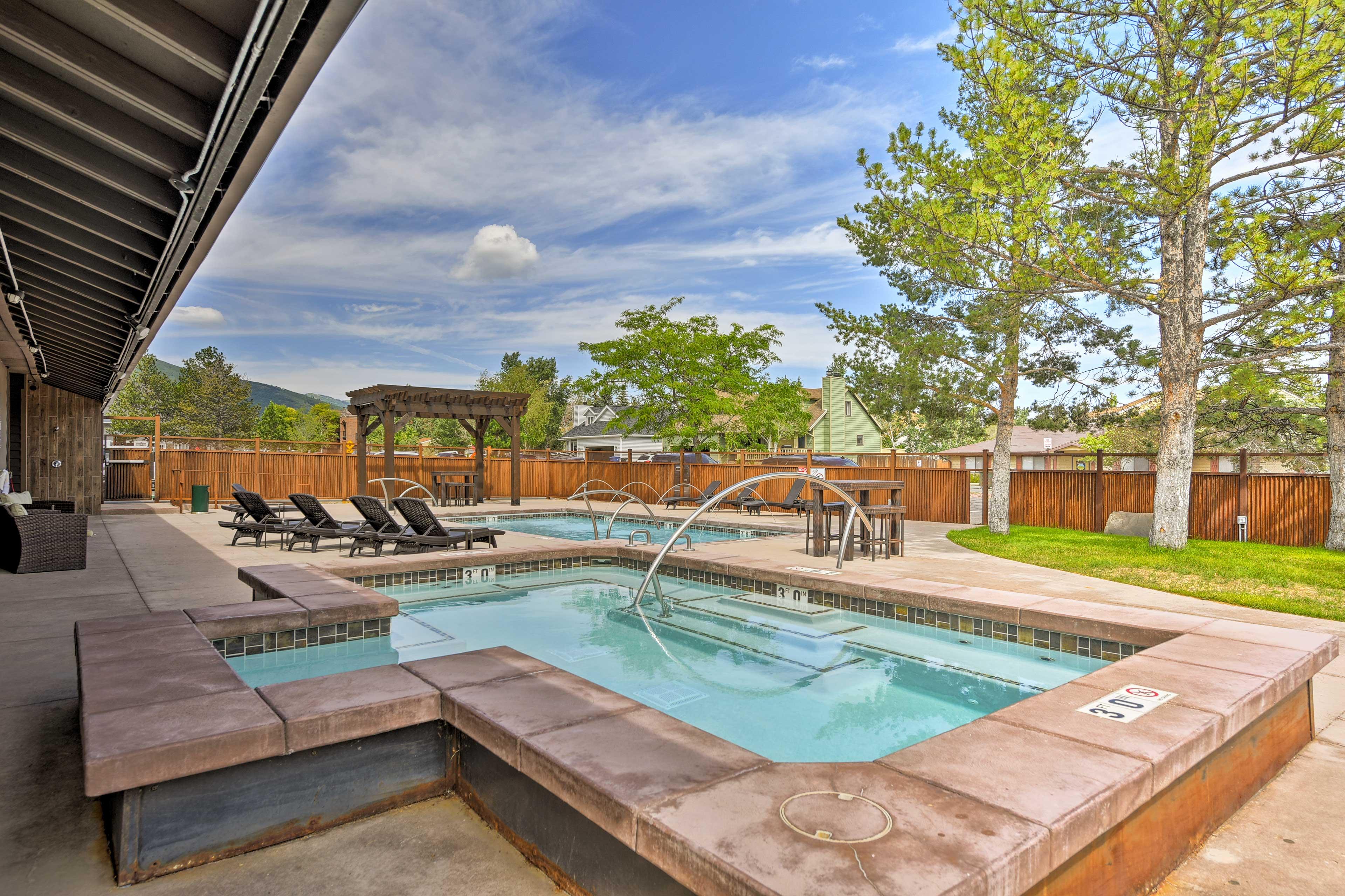 Make a splash in the community pool as you soak up the Utah sunshine.