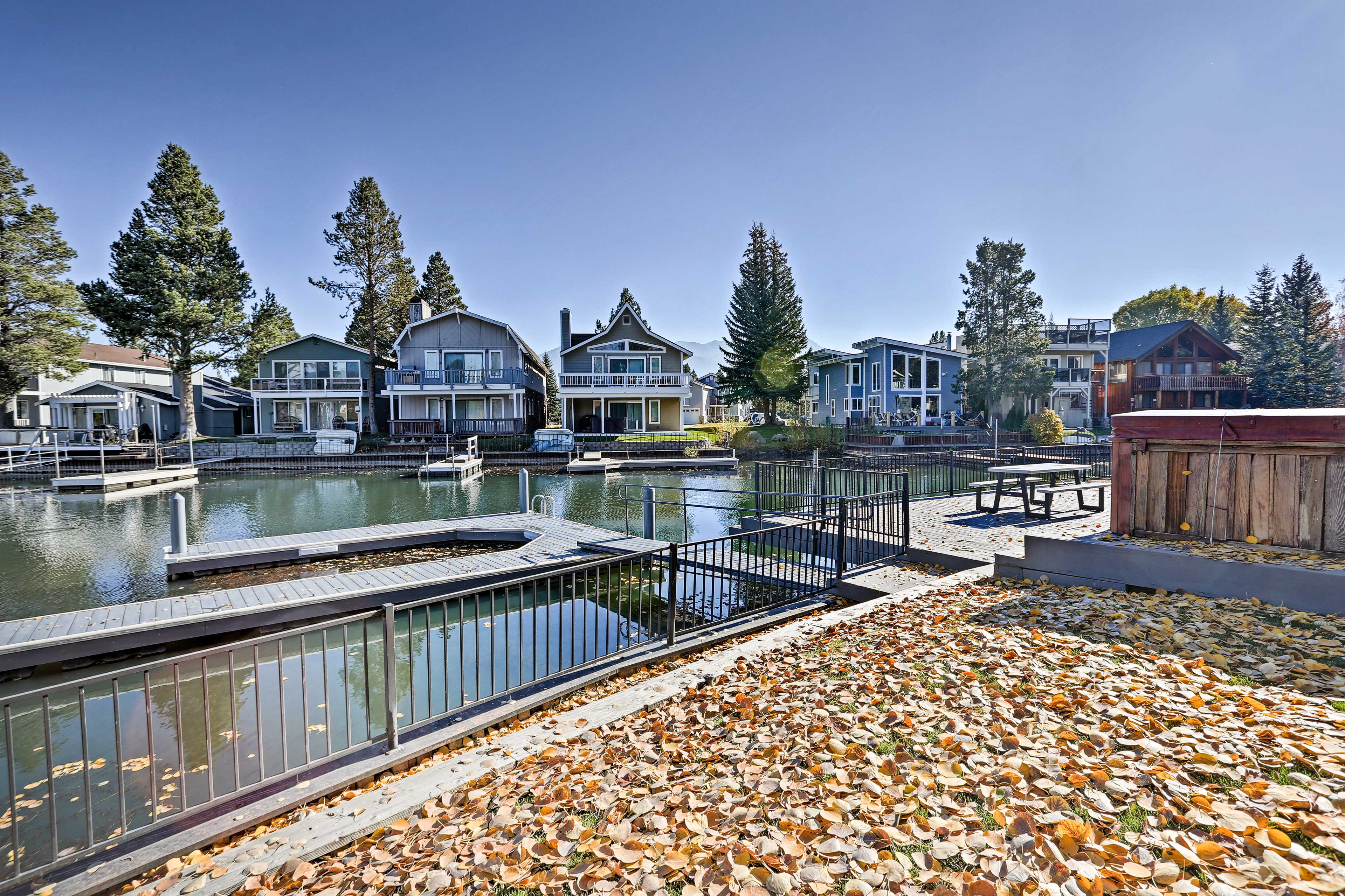 You'll love being right by the lake!